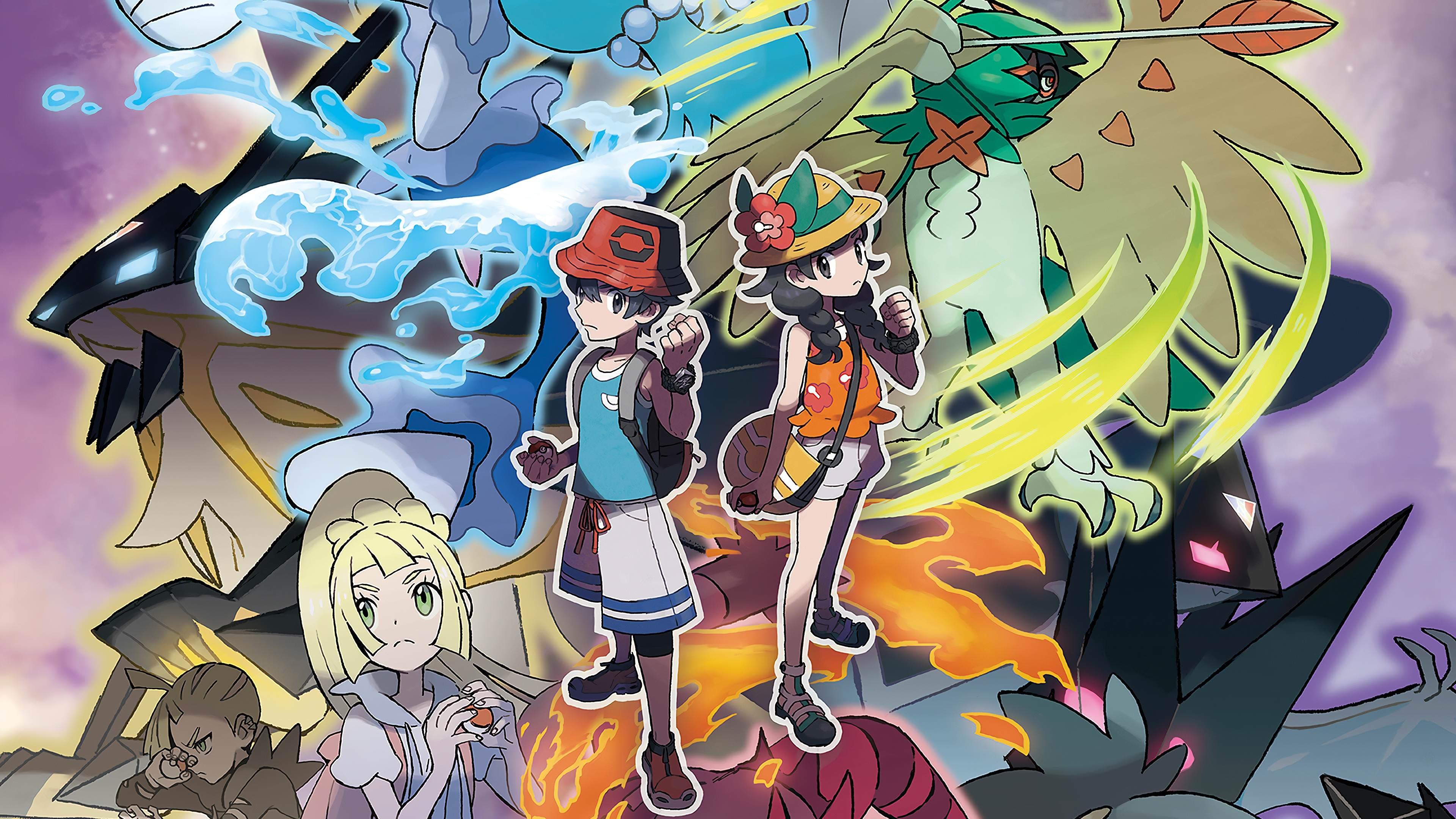 Pokemon Ultra Sun And Moon Wallpapers Top Free Pokemon Ultra Sun