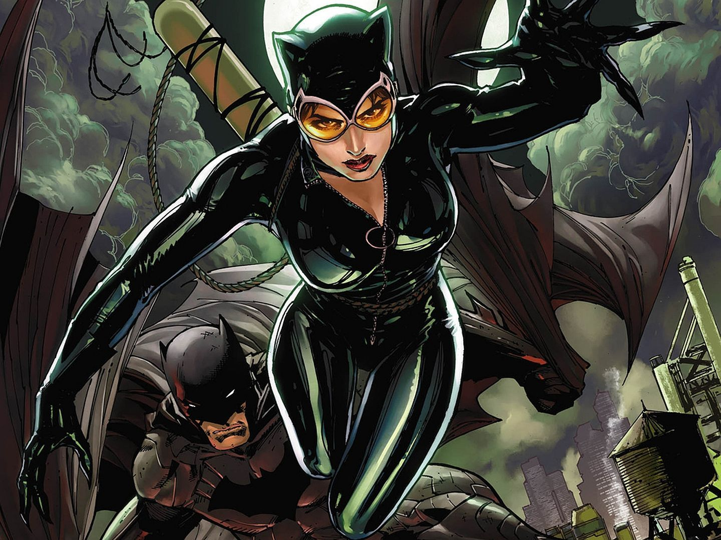 Catwoman Comic Wallpapers - Top Free Catwoman Comic Backgrounds - WallpaperAccess