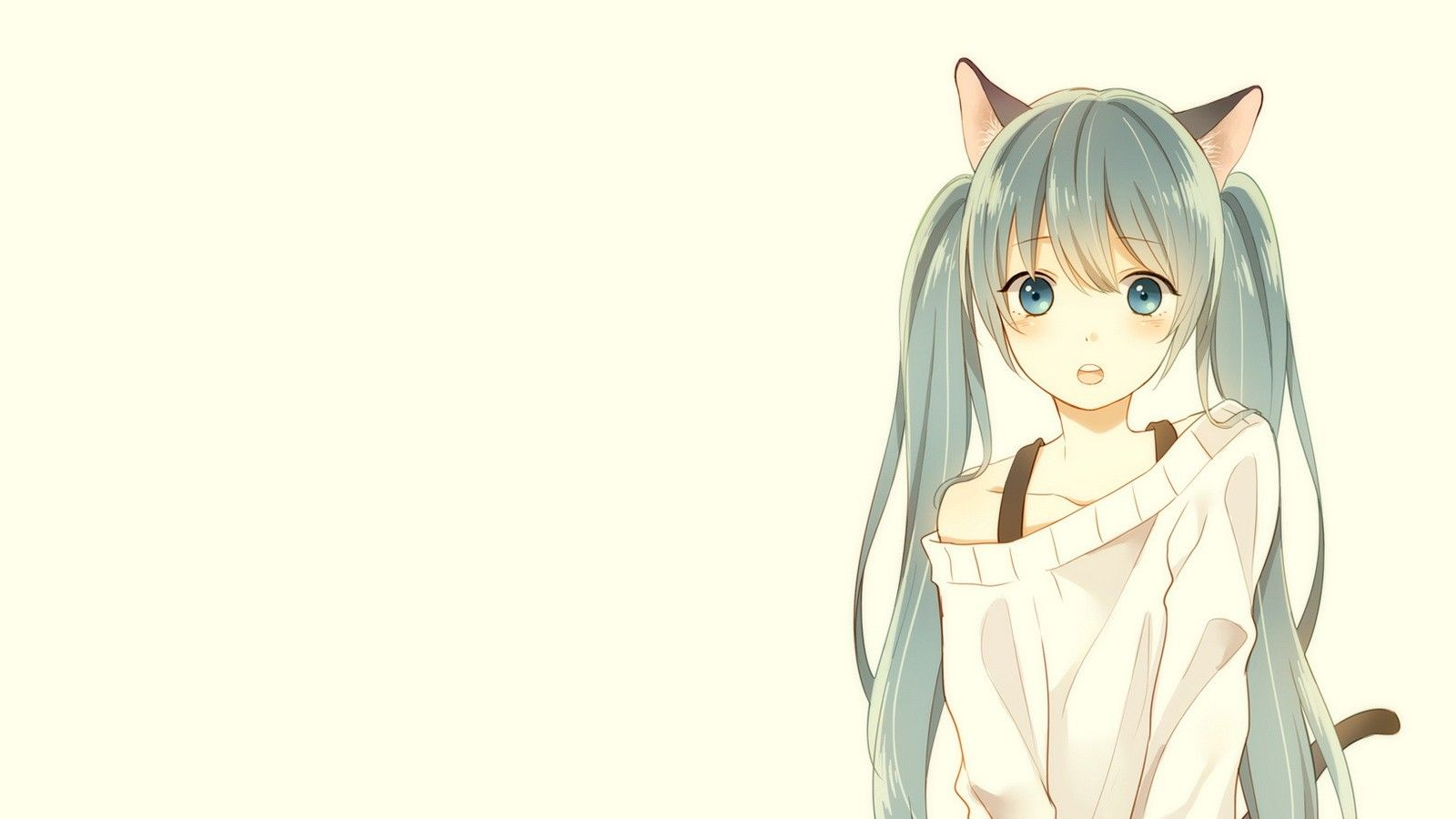 Anime Cat Girl Wallpapers Top Free Anime Cat Girl Backgrounds Wallpaperaccess