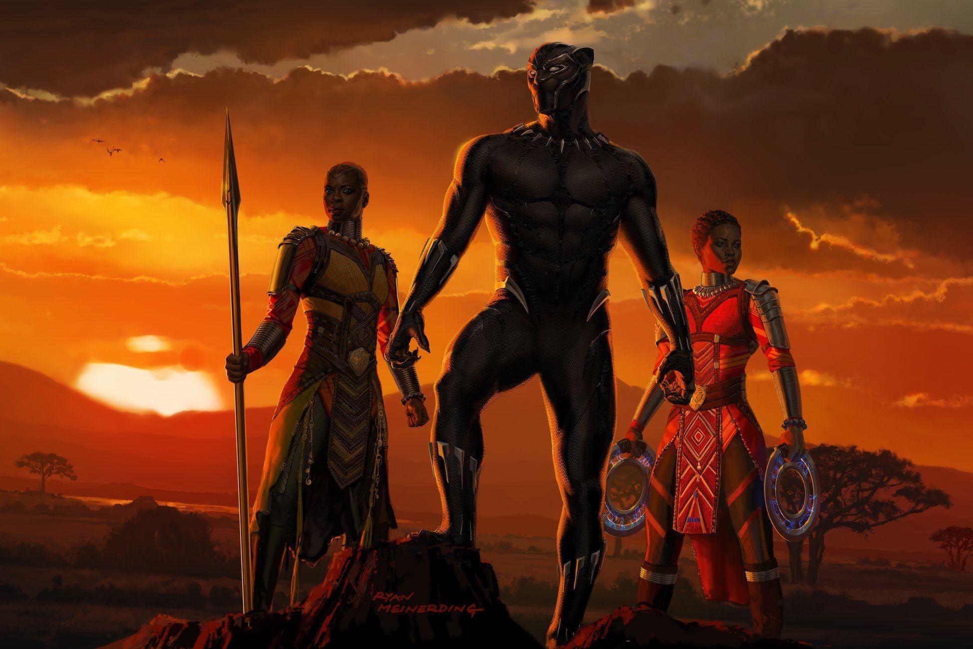 Black Panther Movie Wallpapers Top Free Black Panther Movie Backgrounds Wallpaperaccess