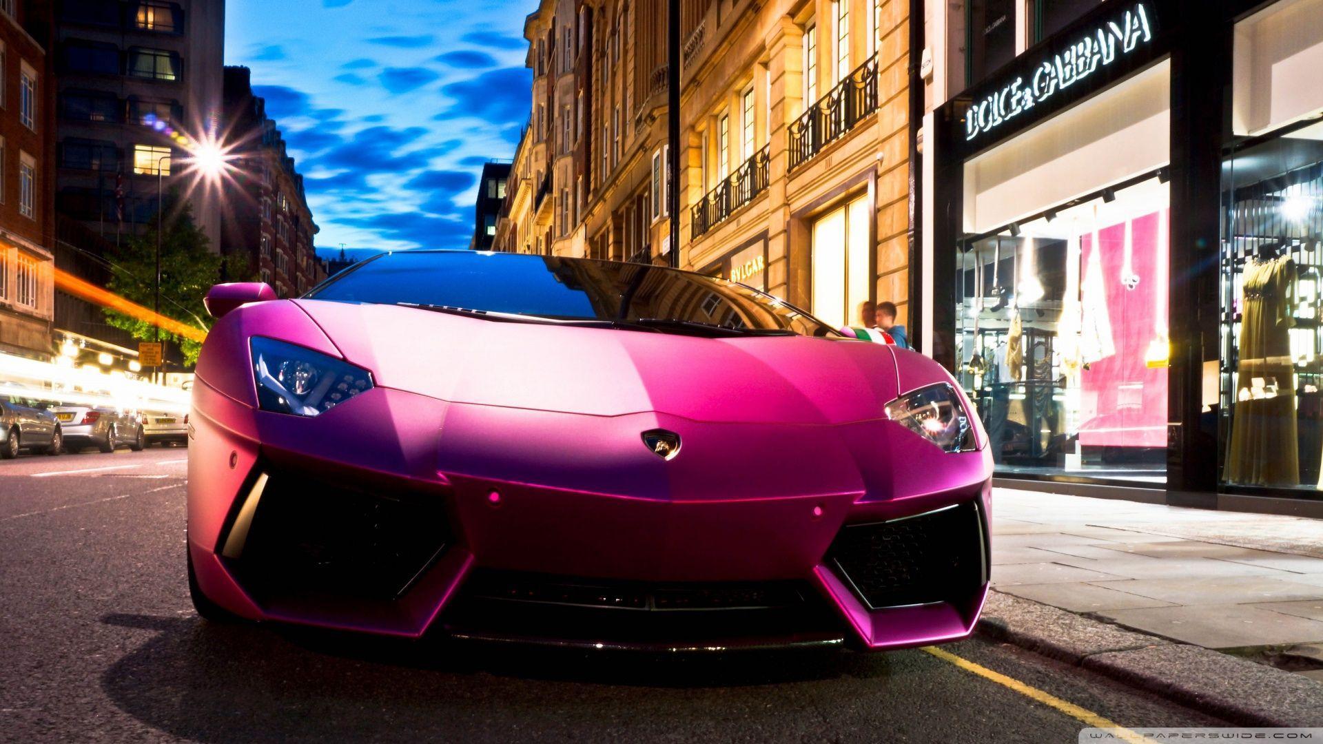 Pink Lamborghini Wallpapers Top Free Pink Lamborghini Backgrounds Wallpaperaccess