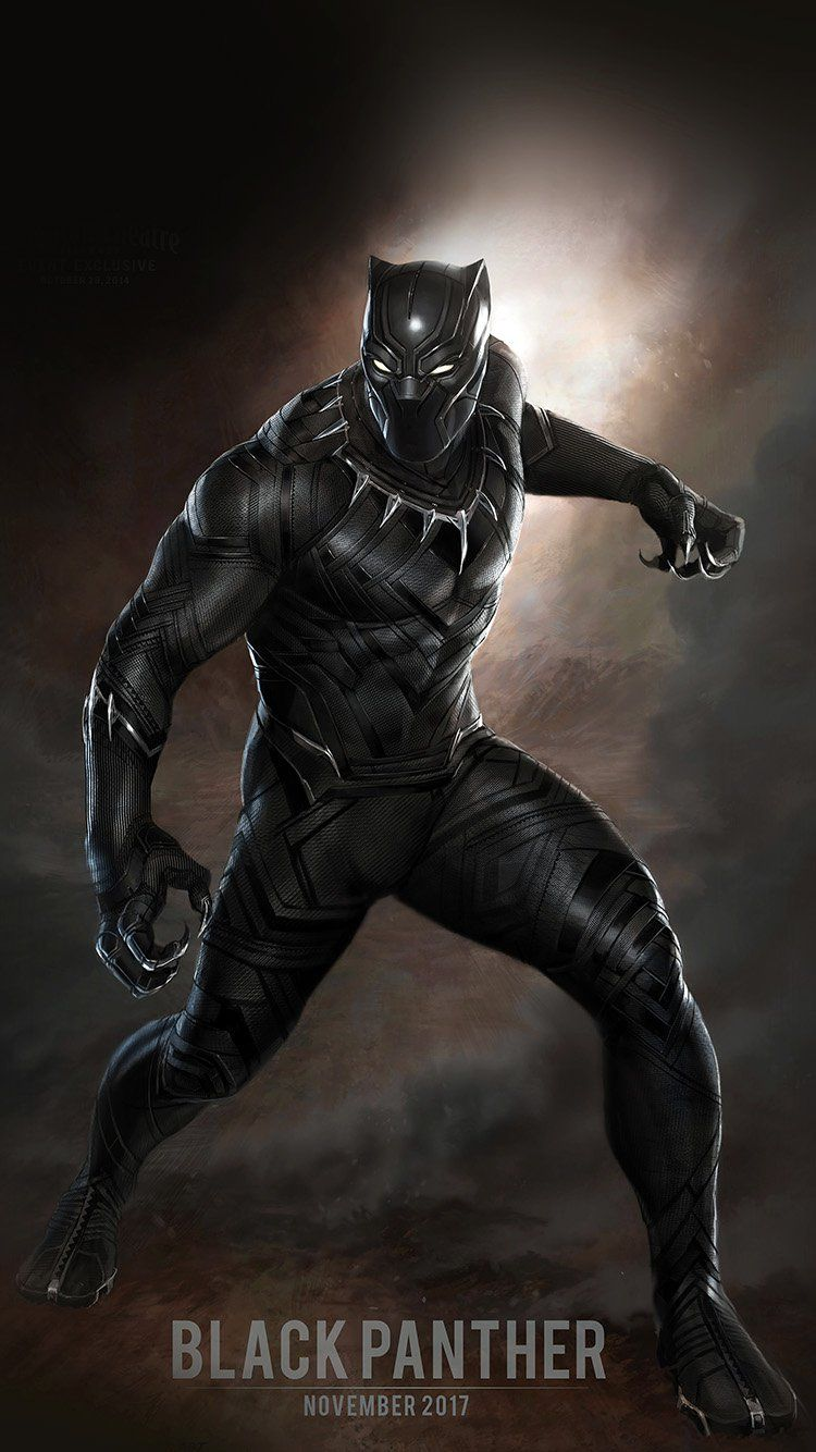 Black Panther Iphone Wallpapers Top Free Black Panther Iphone Backgrounds Wallpaperaccess