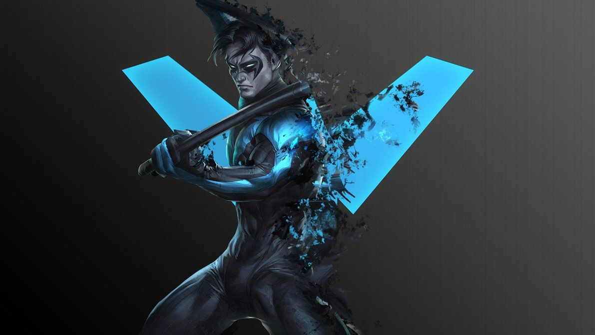 Nightwing Phone Wallpapers - Top Free Nightwing Phone ...