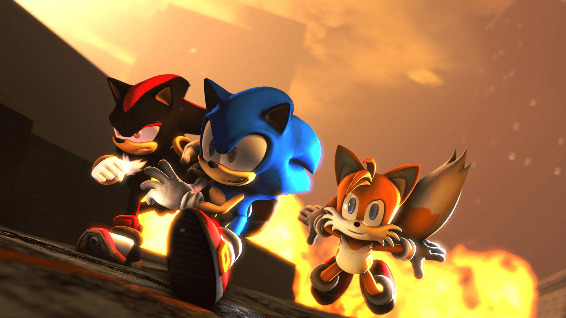 Sonic The Hedgehog City Wallpapers Top Free Sonic The Hedgehog City Backgrounds Wallpaperaccess