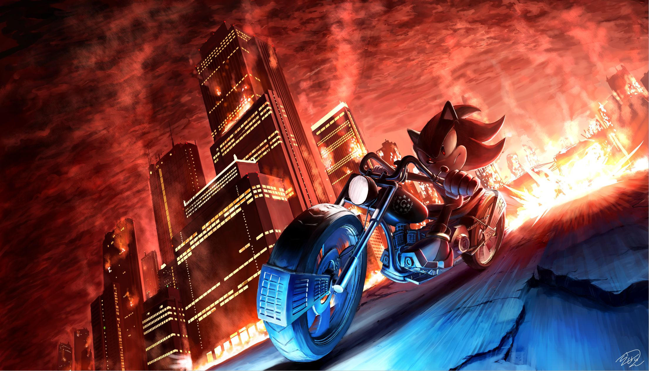 Sonic The Hedgehog City Wallpapers Top Free Sonic The Hedgehog