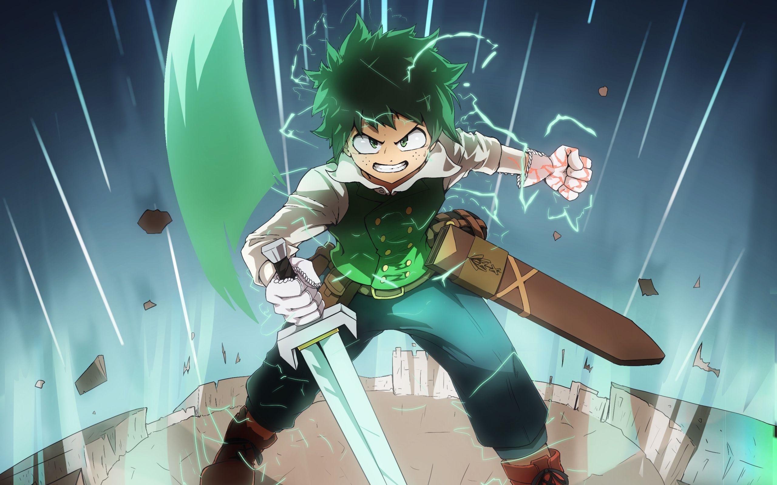 2560x1600 Hình nền của Izuku Midoriya, My Hero Academia, Anime - My Hero Academia Sword - 2560x1600 Hình nền - teahub.io