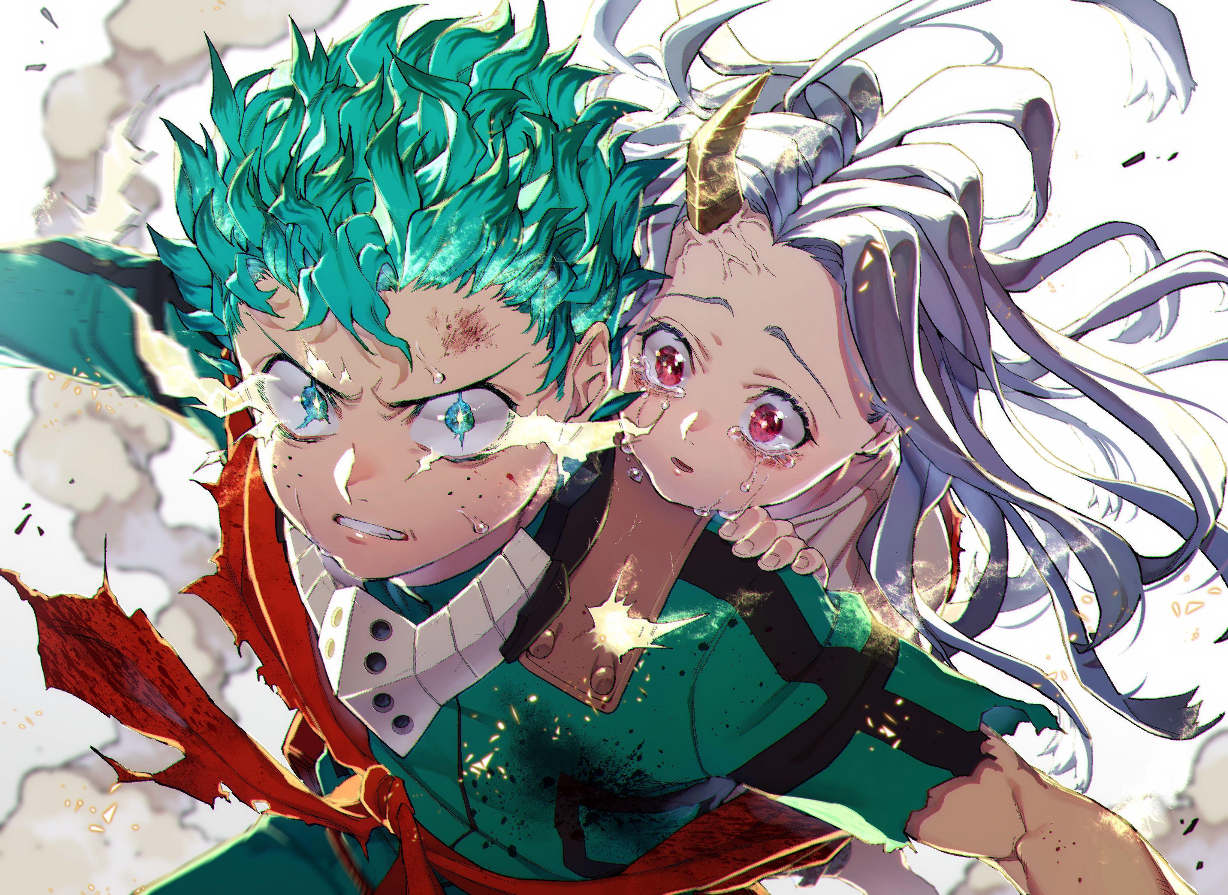 4091x2980 Eri (My Hero Academia), hình nền Izuku Midoriya.  Phim hoạt hình.  Hình nền HD tuyệt vời
