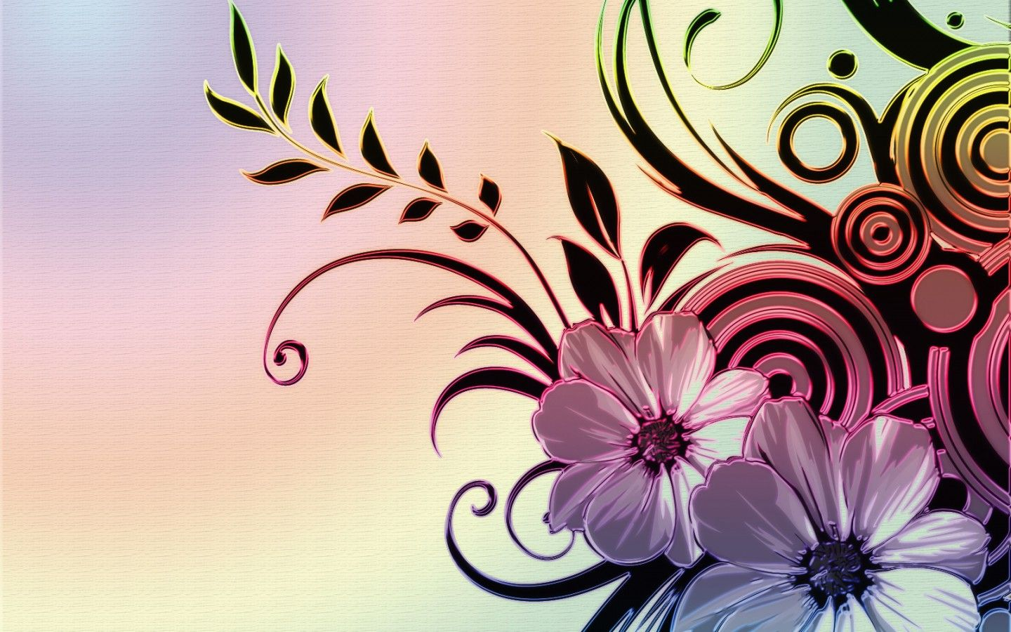 Colorful Abstract Flower Wallpapers Top Free Colorful Abstract