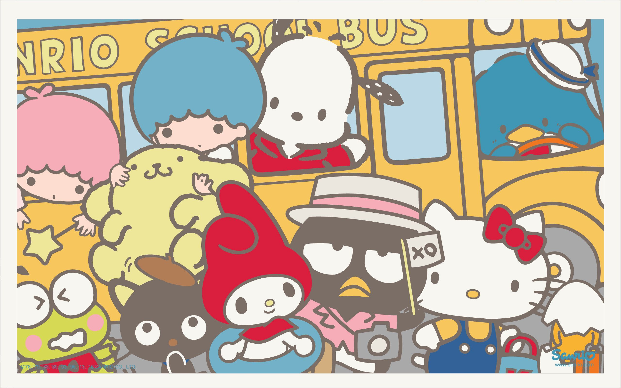 Sanrio Wallpapers Top Free Sanrio Backgrounds Wallpaperaccess