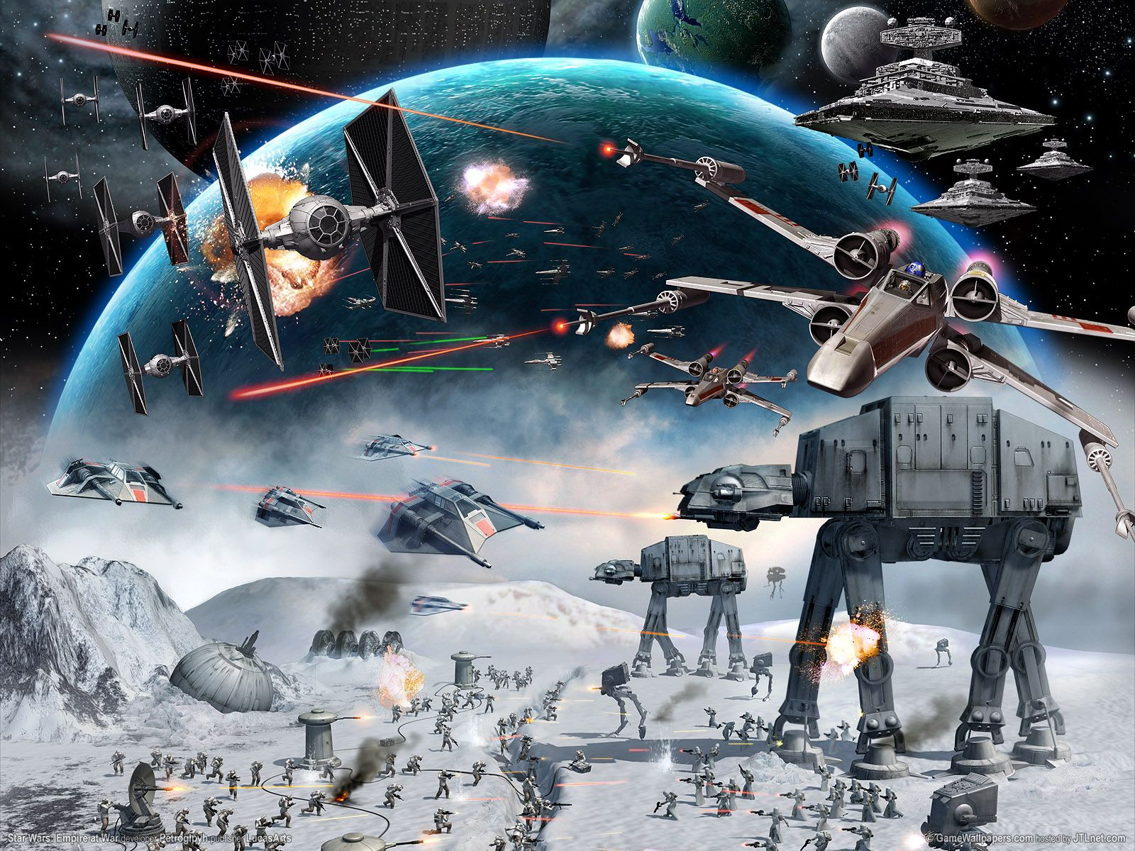Star Wars Empire At War Wallpapers Top Free Star Wars Empire At War Backgrounds Wallpaperaccess