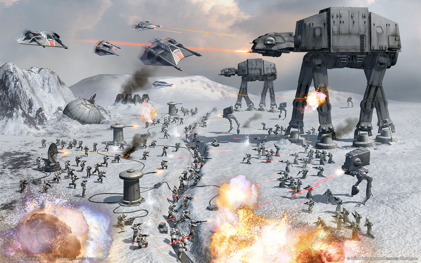 Star Wars Empire at War Wallpapers - Top Free Star Wars