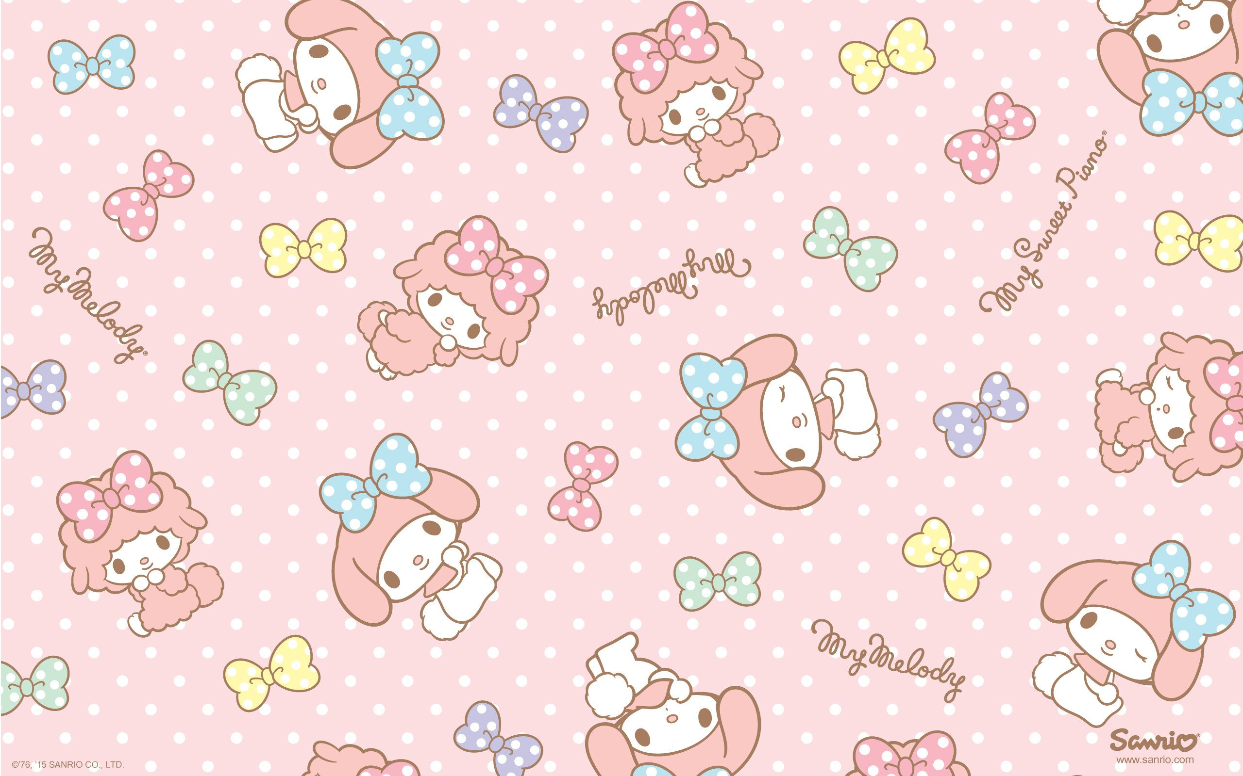 My Melody Wallpapers Top Free My Melody Backgrounds Wallpaperaccess