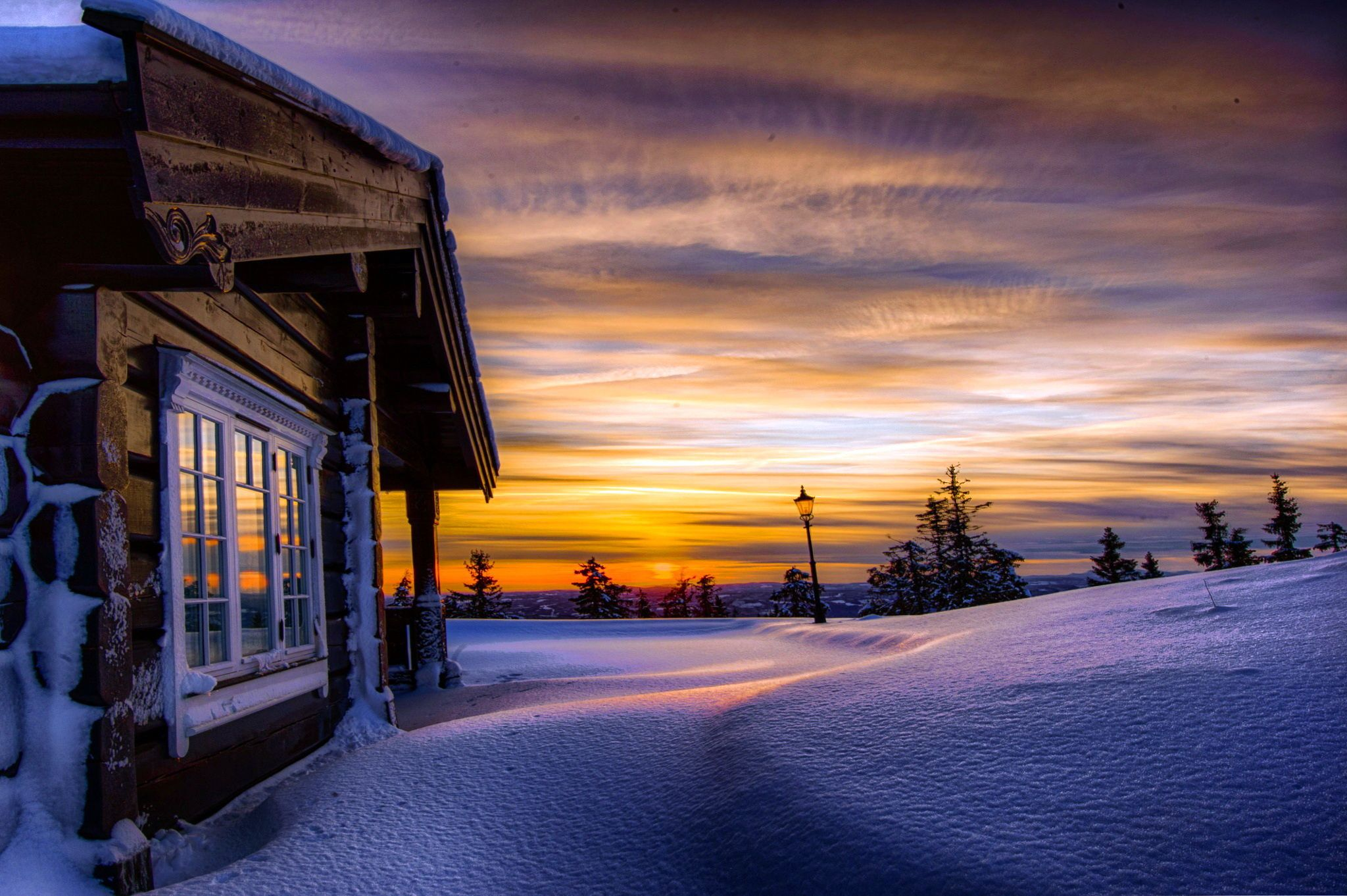 Winter Cottage Wallpapers Top Free Winter Cottage Backgrounds Wallpaperaccess