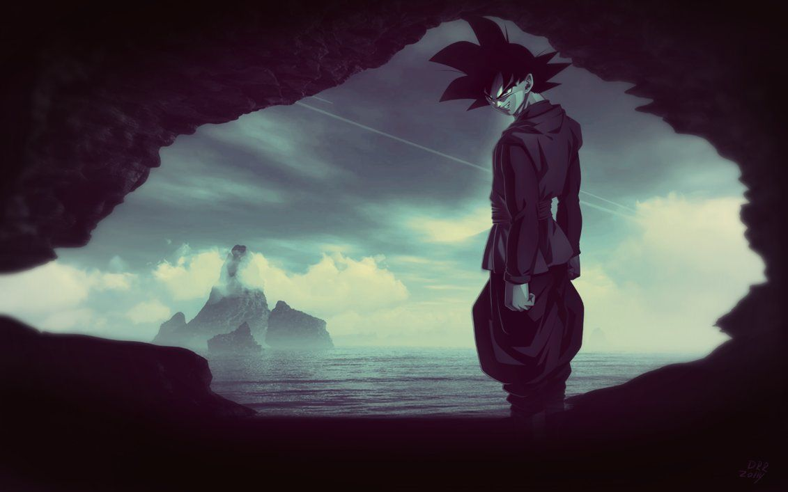 63 Best Free Black Goku Wallpapers