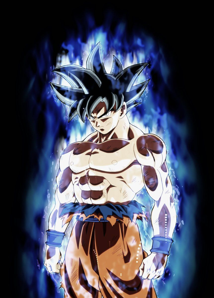 Goku Ultra Instinct Wallpaper 4k Phone