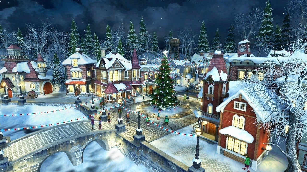 Christmas Village Wallpapers Top Free Christmas Village