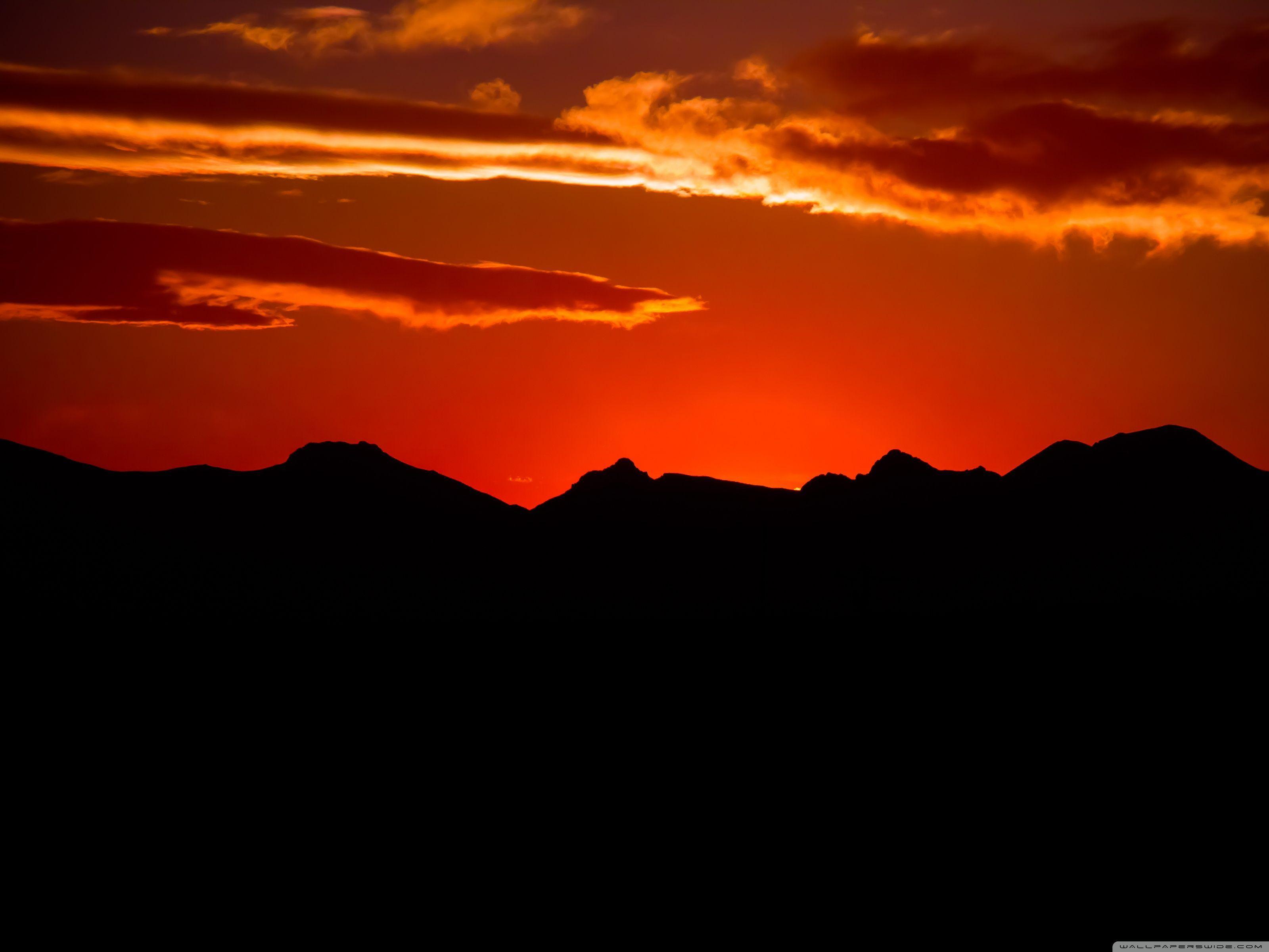 Orange Sky Wallpapers Top Free Orange Sky Backgrounds