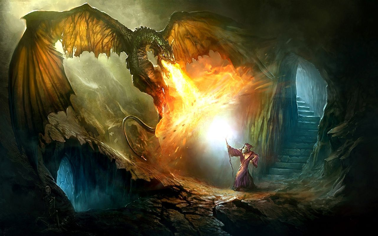 44 Best Free Wizard Dragon Wallpapers WallpaperAccess