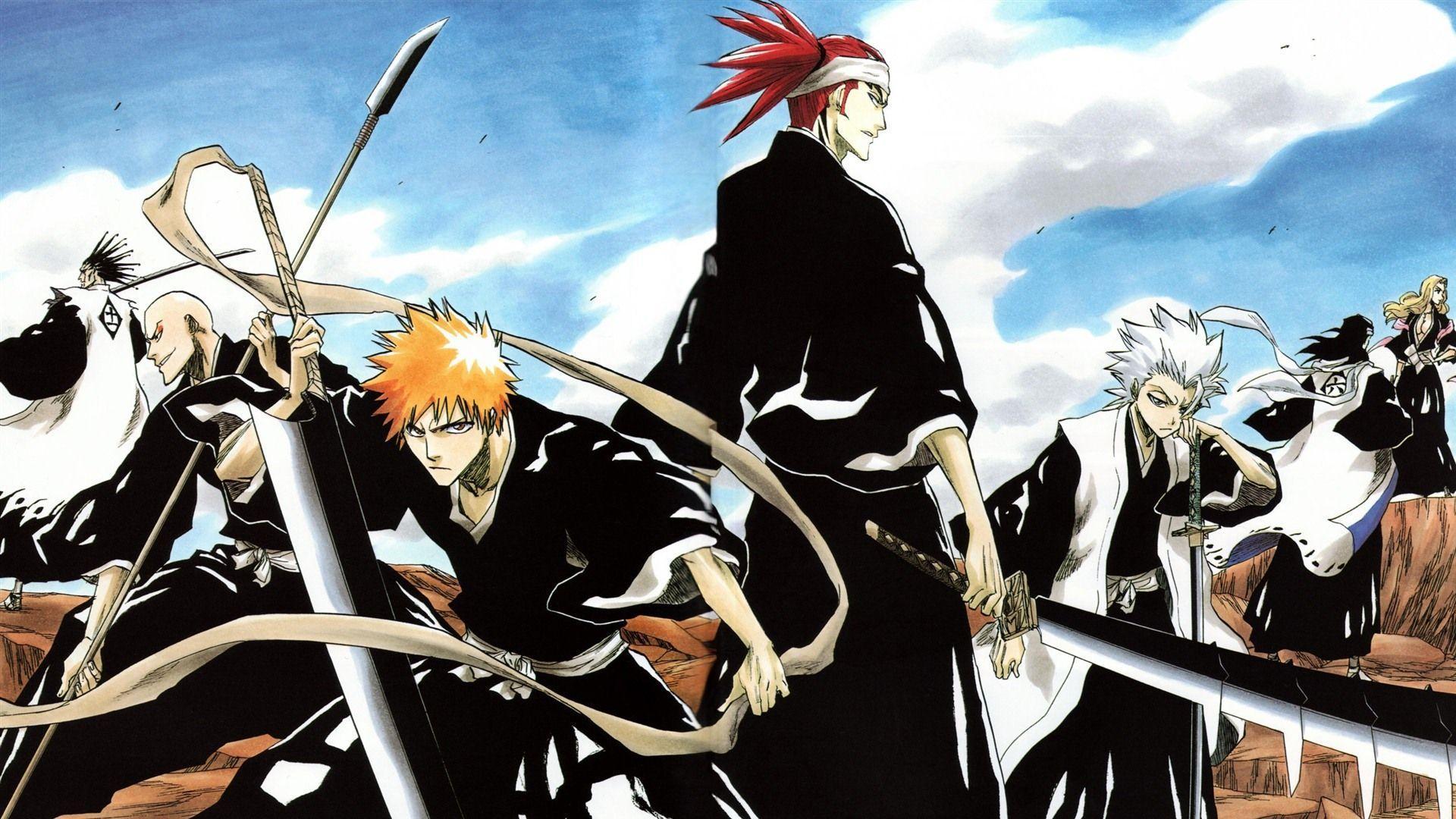 Bleach Manga Wallpapers - Top Free