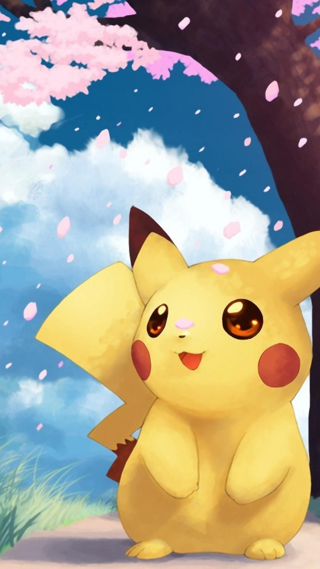 1080x1920 Hình nền pikachu dễ thương.  Theo dõi chúng tôi để biết thêm hình nền Pikachu