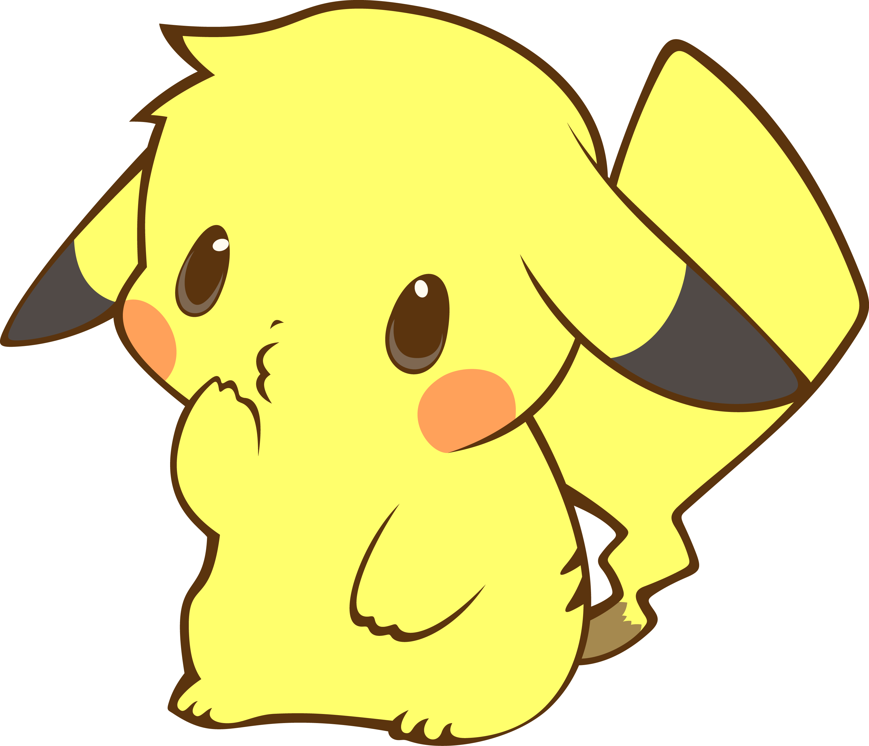 Cute Pikachu Wallpapers Top Free Cute Pikachu Backgrounds Wallpaperaccess