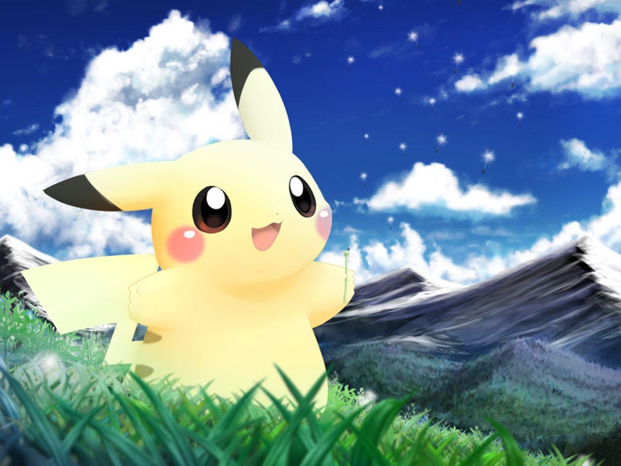 1280x960 Pikachu - Pokémon - Hình nền - Bảng hình ảnh Anime Zerochan