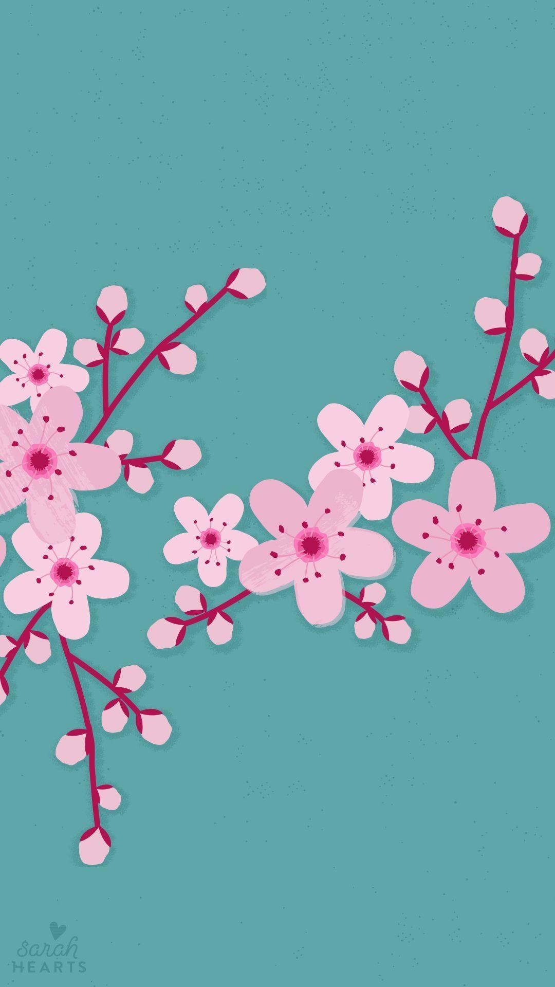Get Iphone 6 Cherry Blossom Flower Wallpaper Gif