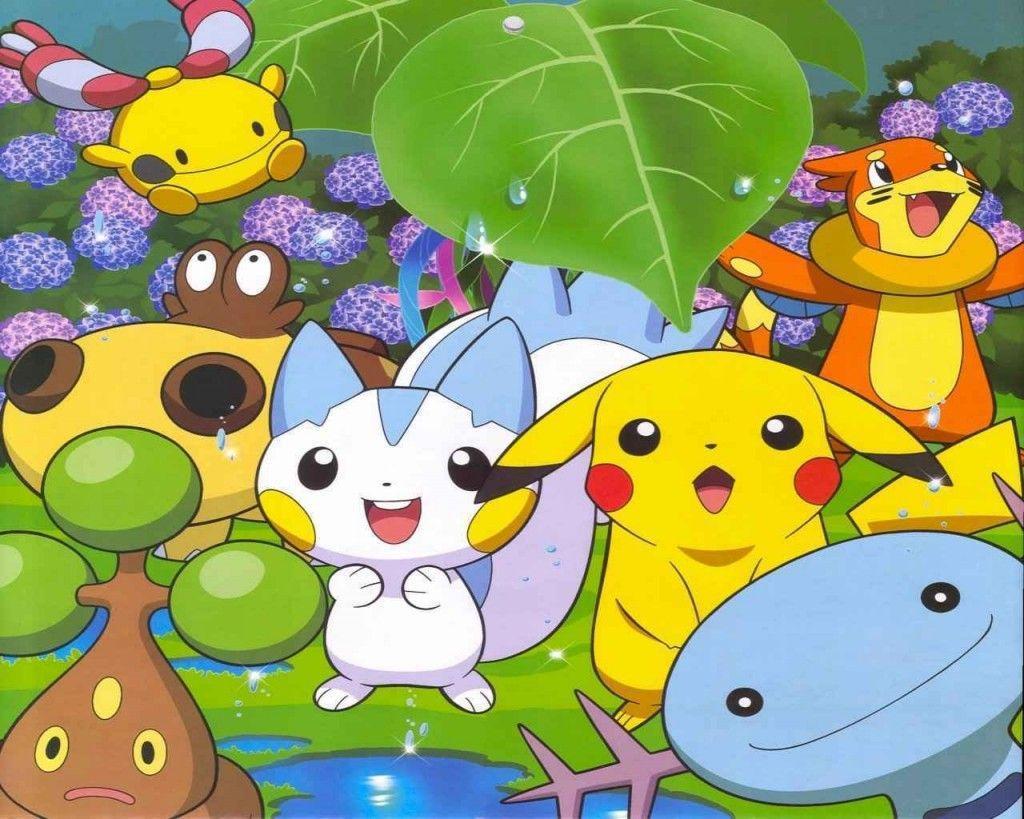 1024x819 Pikachu - Hình nền Pokemon