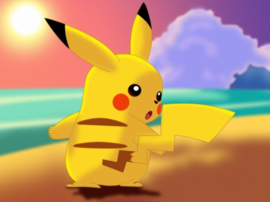 Hình nền Pikachu 1024x768 HD