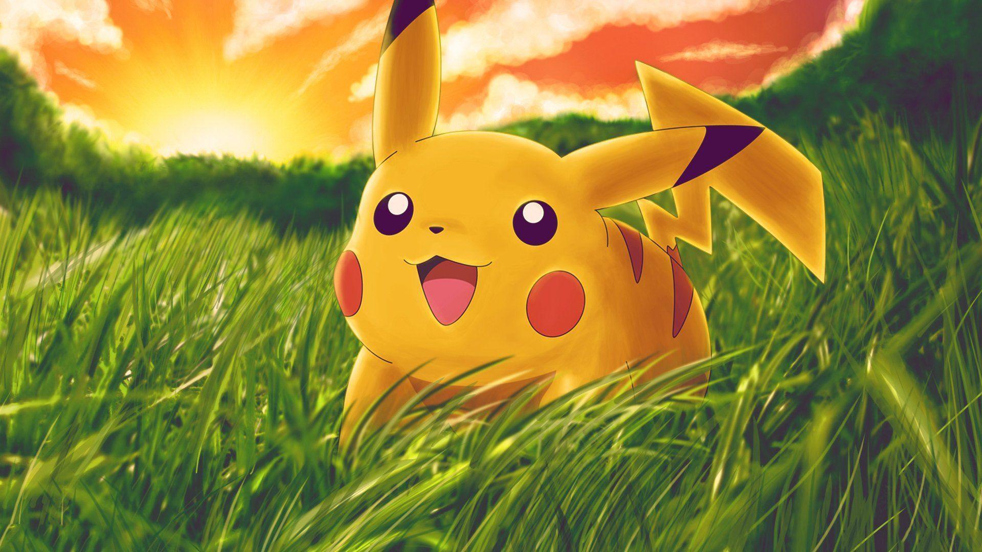 1920x1080 Hình nền Pikachu dễ thương Inside