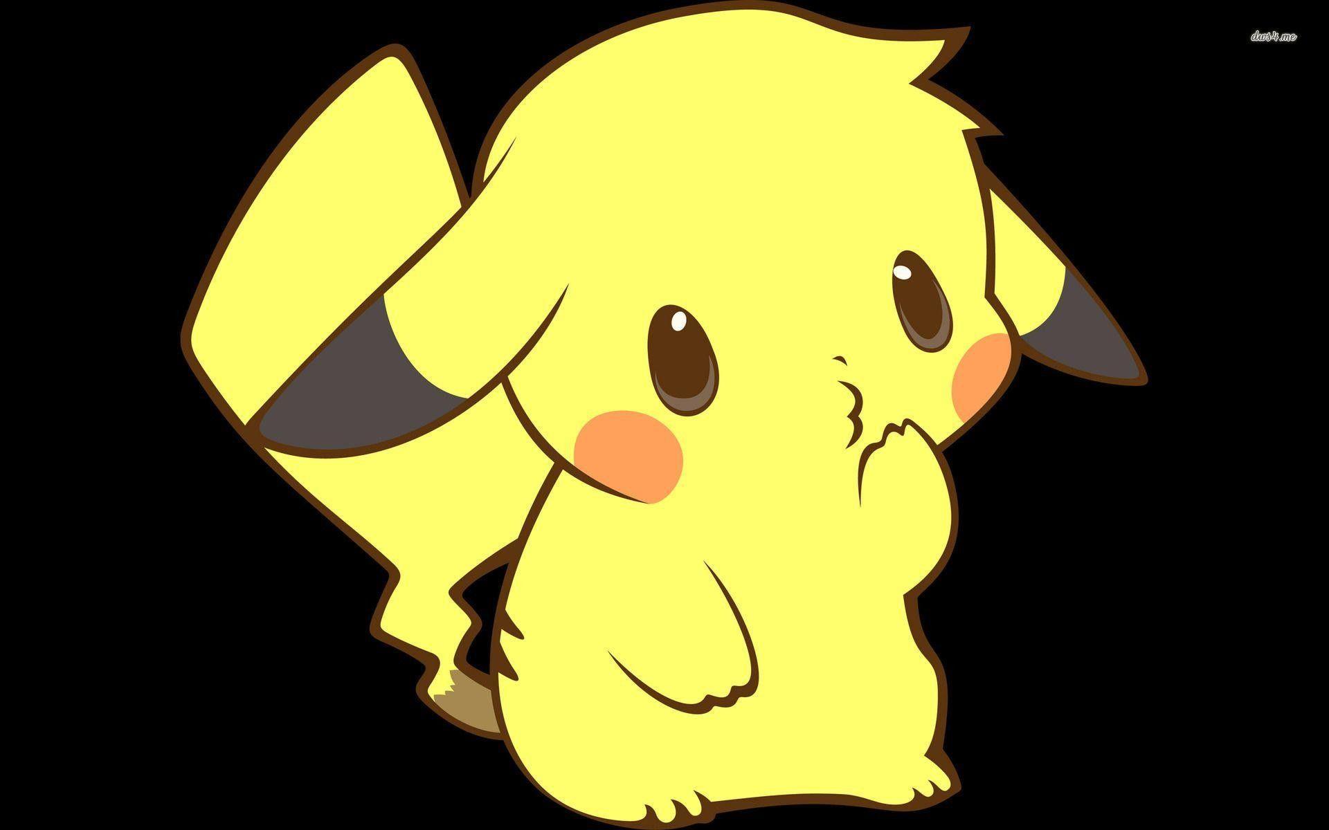 1920x1200 Hình nền Pikachu dễ thương nhất 1920x1200 Hình nền WTG200216203
