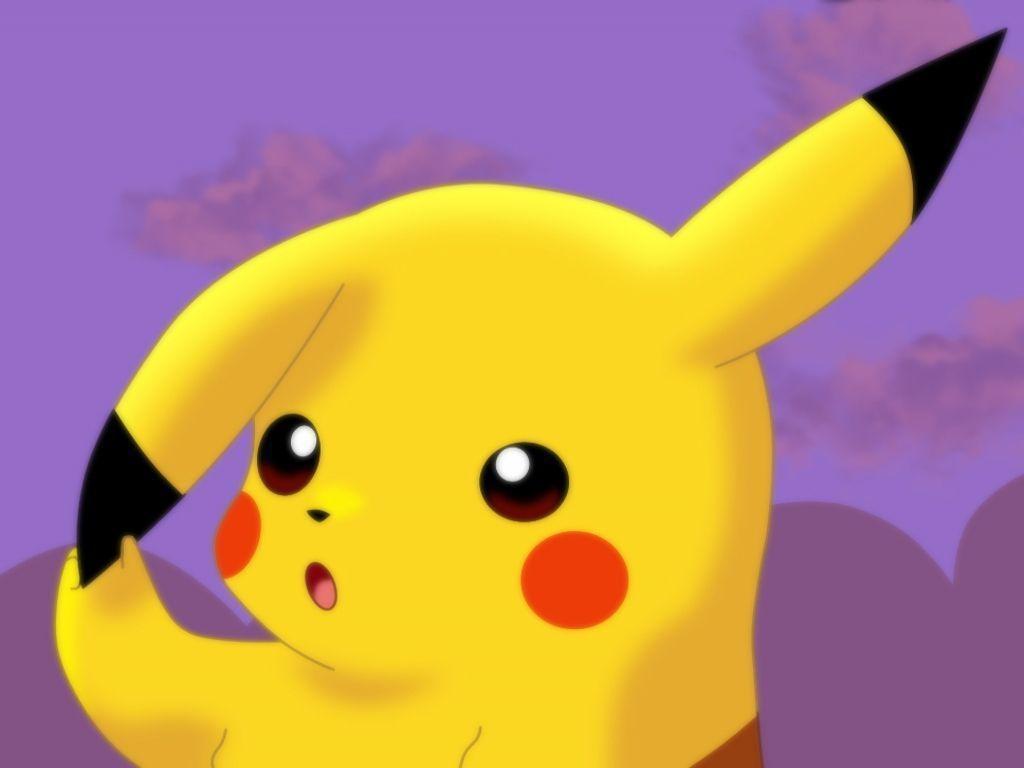 Hình ảnh Pikachu 1024x768 HD dễ thương