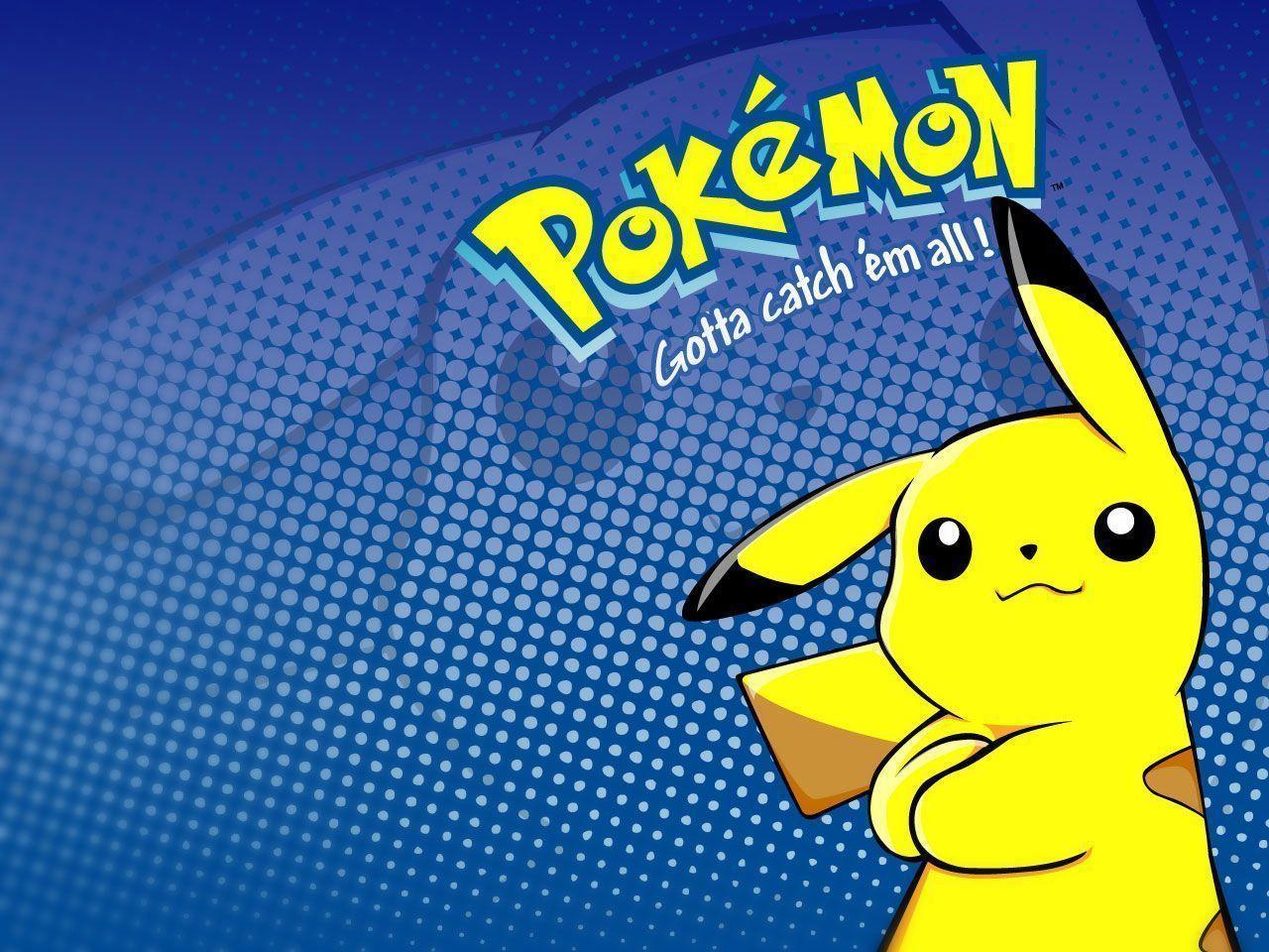 Hình nền Pokémon Pikachu 1280x960
