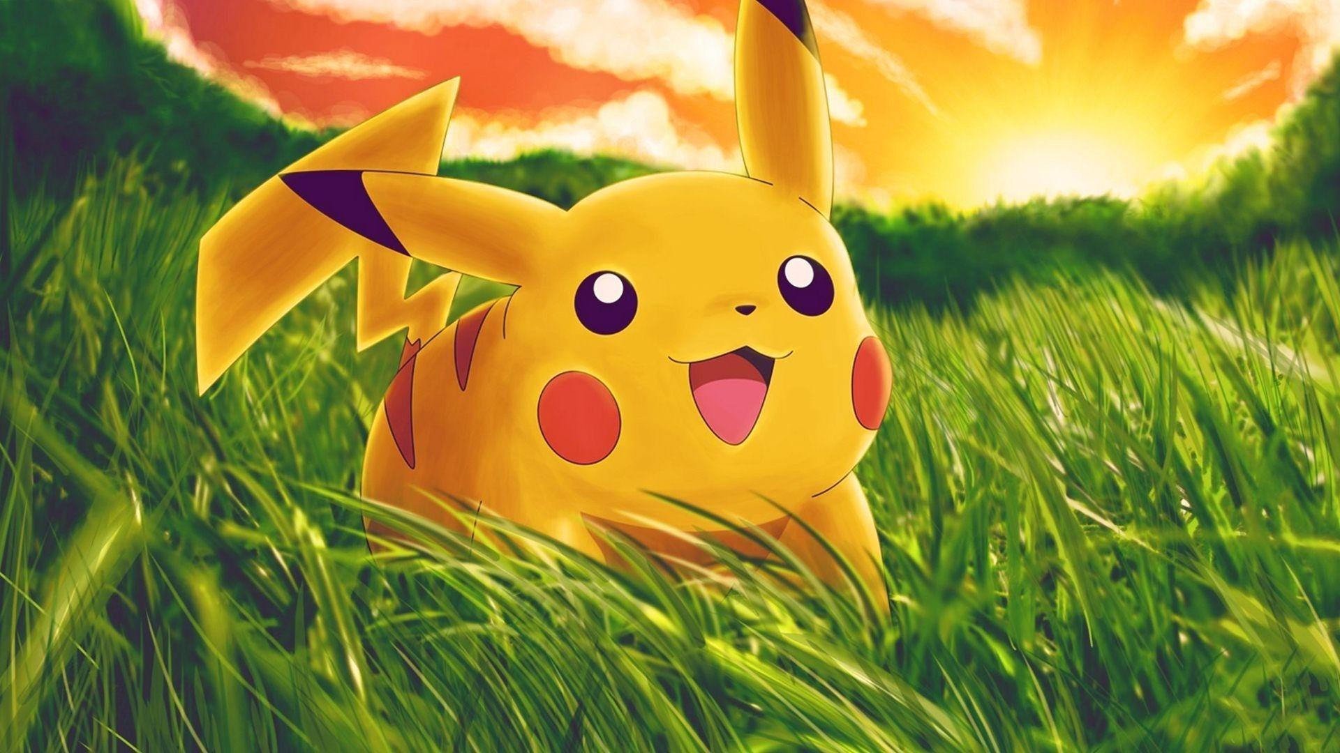 1920x1080 Pikachu hình nền - Wallpapercraft