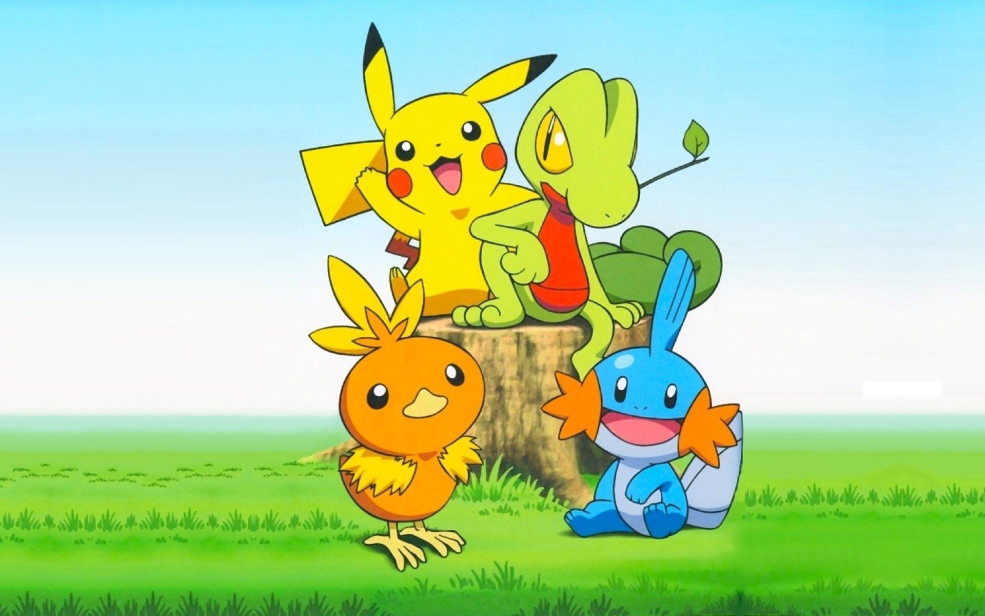 1920x1200 Pokemon Pikachu hình nền