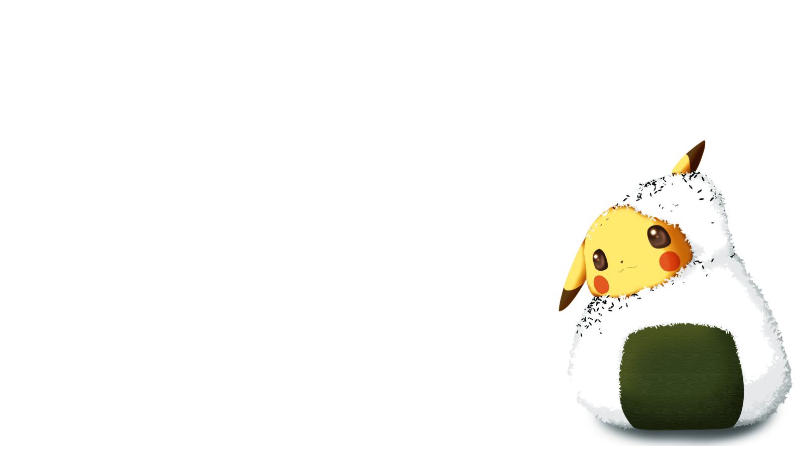 Hình nền Pokemon Pikachu 1600x900