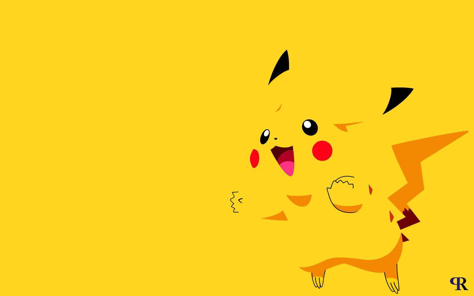 1600x1000 Hình nền Pikachu dễ thương miễn phí Độ nét cao tại Phim Monodomo