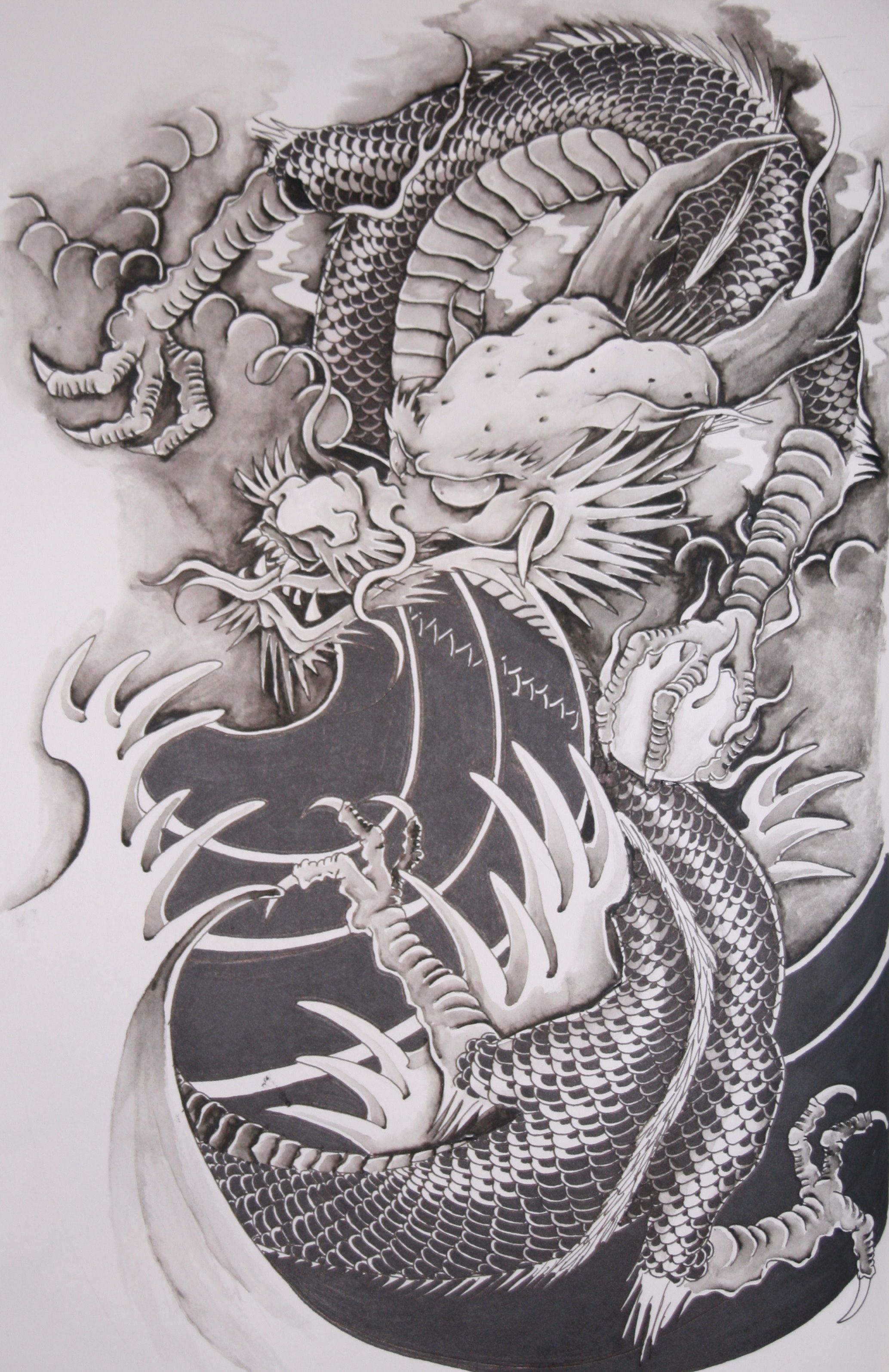 Japanese Dragon: Japanese Dragon Tattoo Wallpapers