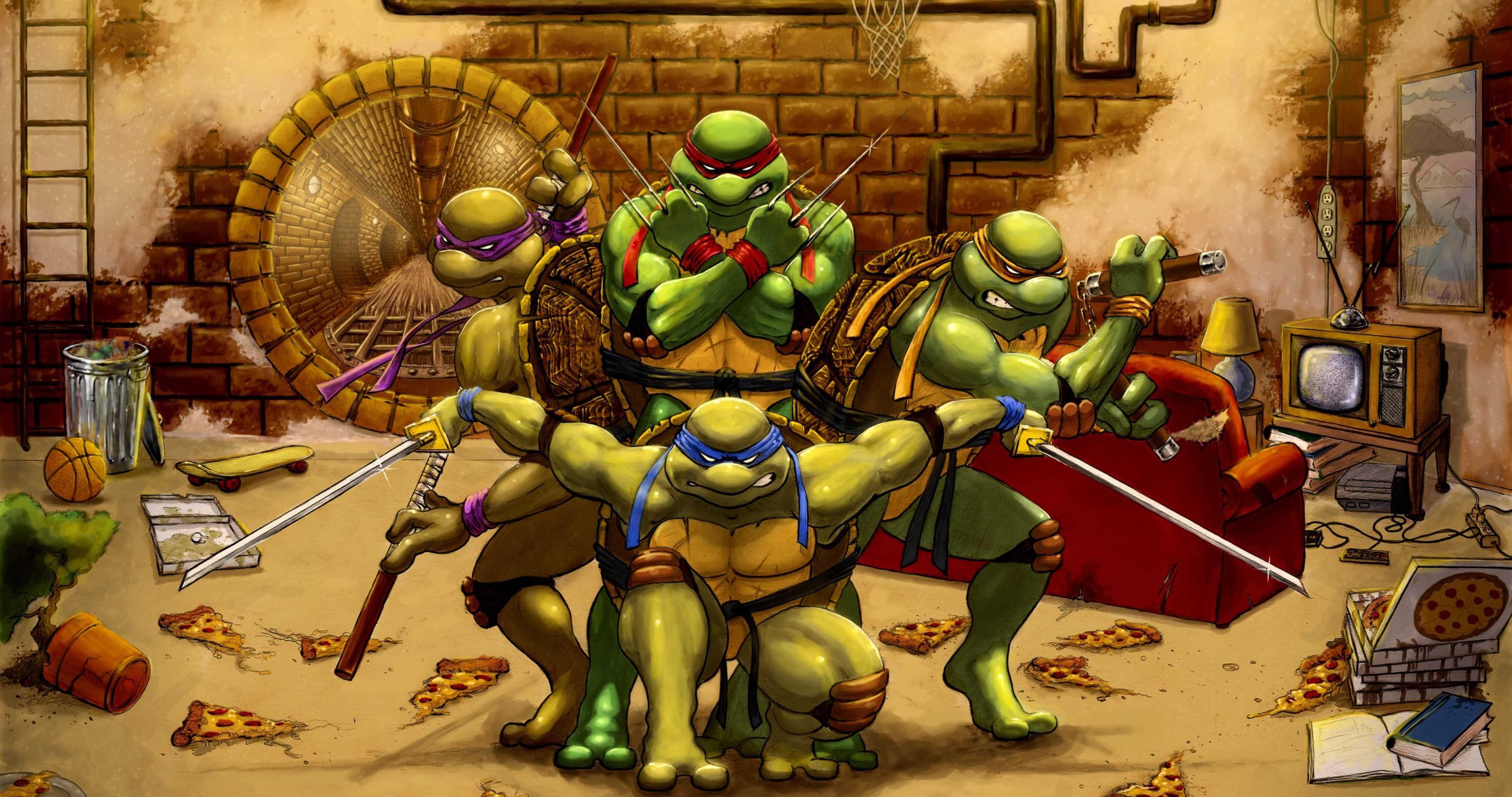 New Ninja Turtles Wallpapers - Top Free New Ninja Turtles ...