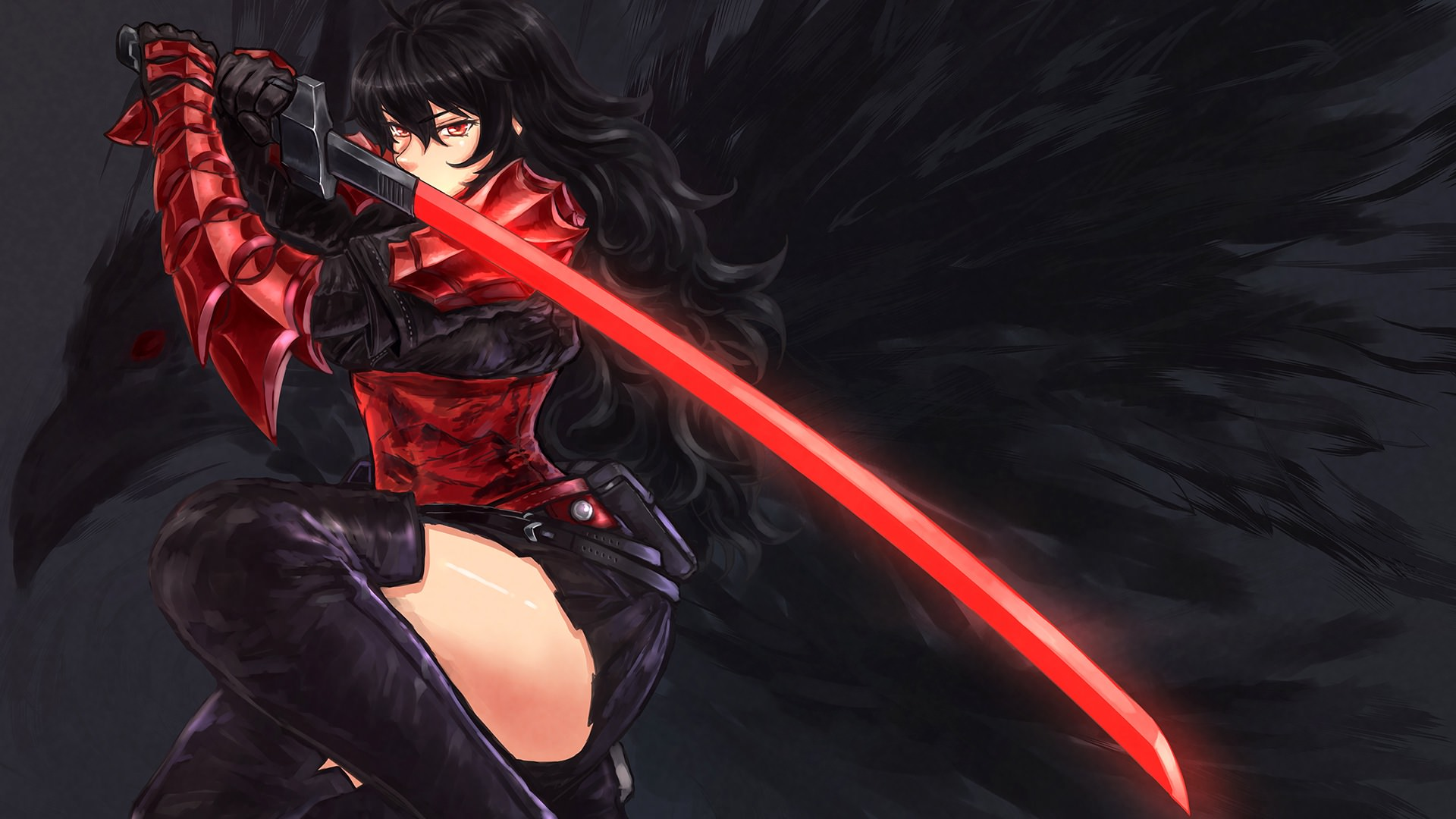 Download 780 Koleksi Wallpaper Hd Anime Girl Katana HD Terbaik