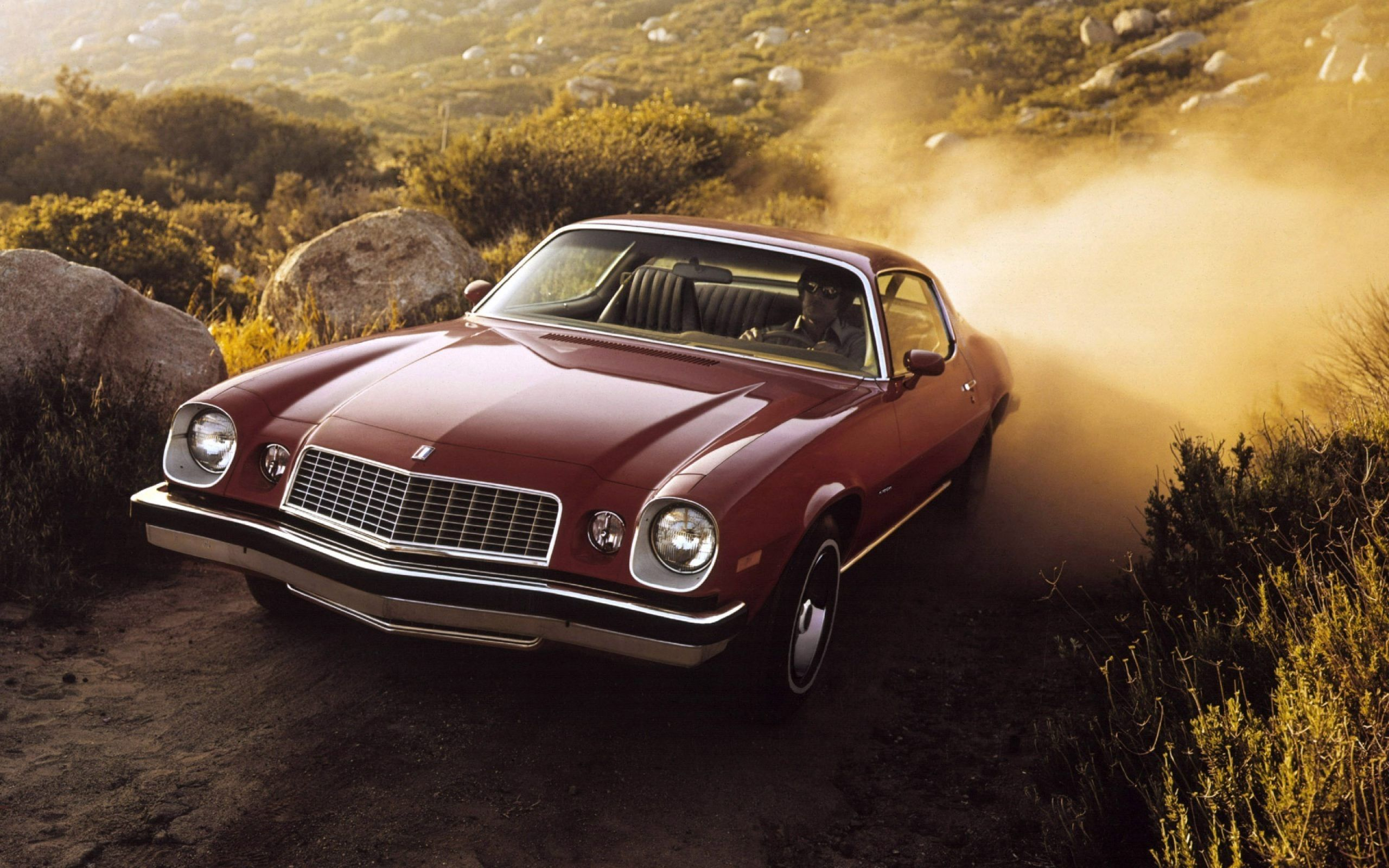Old School Muscle Cars Wallpapers