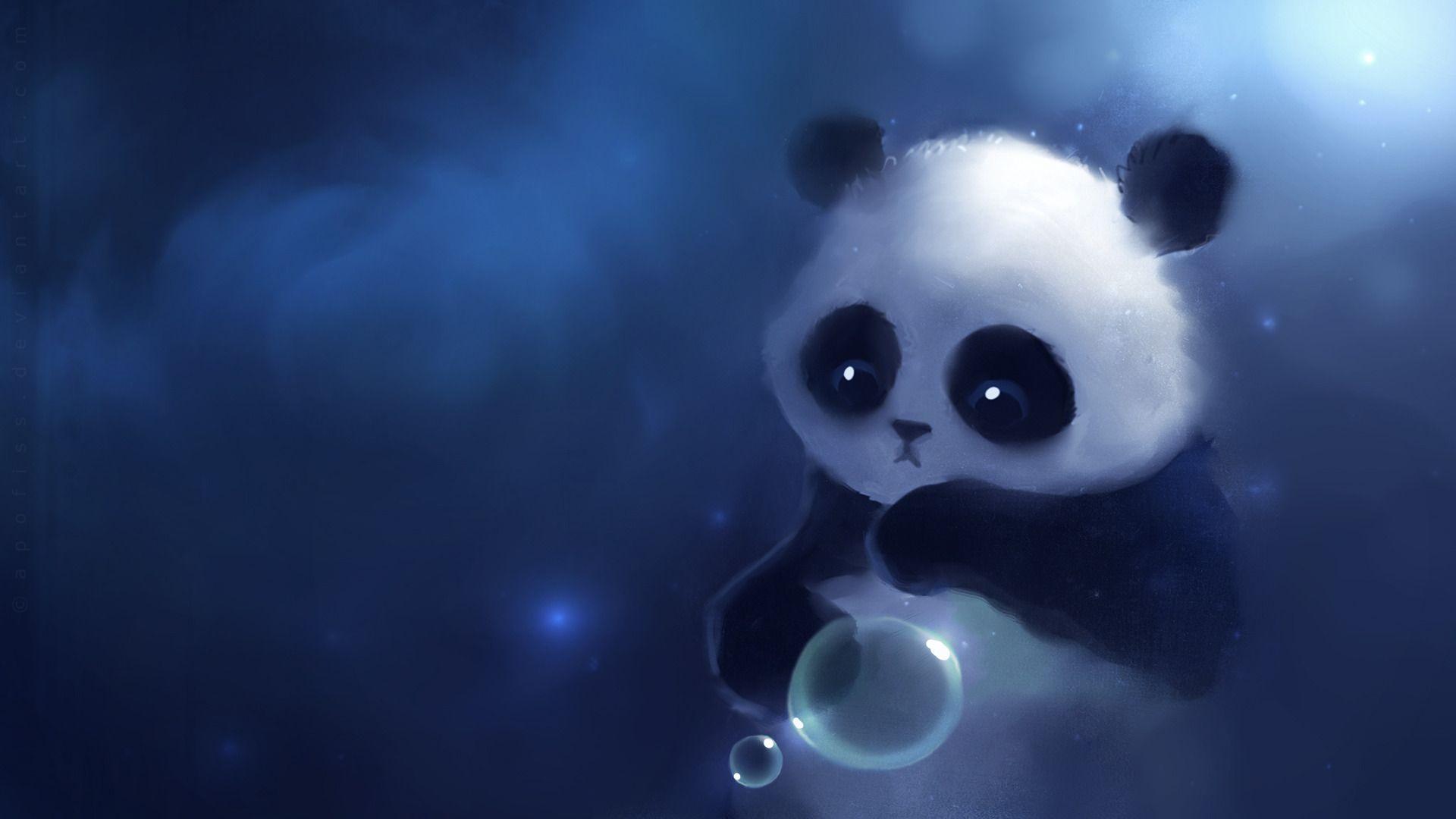 Kawaii Panda Wallpapers - Top Free Kawaii Panda Backgrounds - WallpaperAccess
