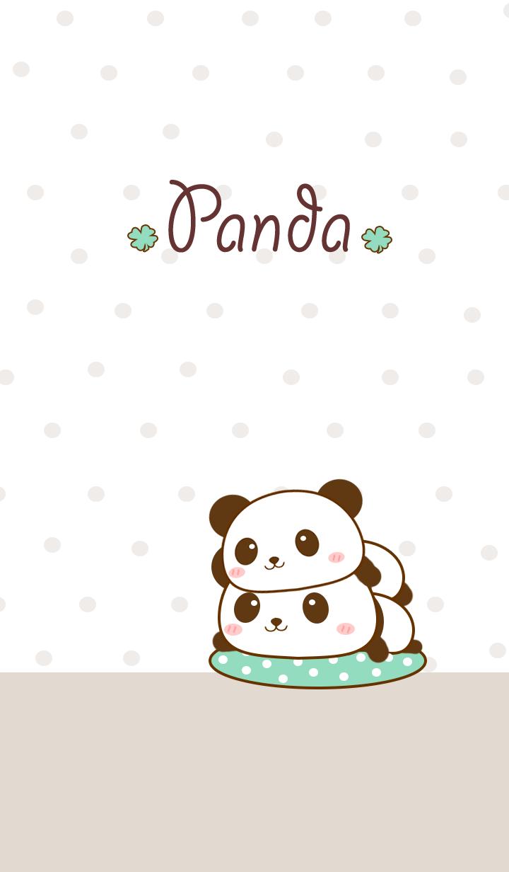 Kawaii Cute Panda Wallpapers Top Free Kawaii Cute Panda Backgrounds Wallpaperaccess