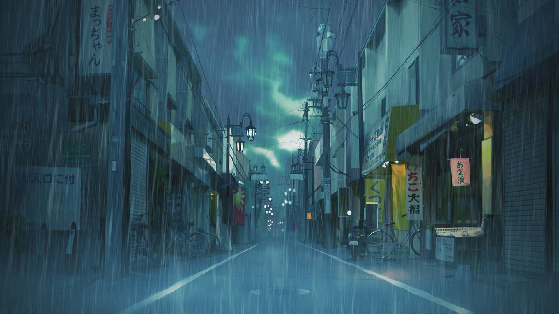 Japan rain wallpapers top free japan rain backgrounds - Anime rain wallpaper ...