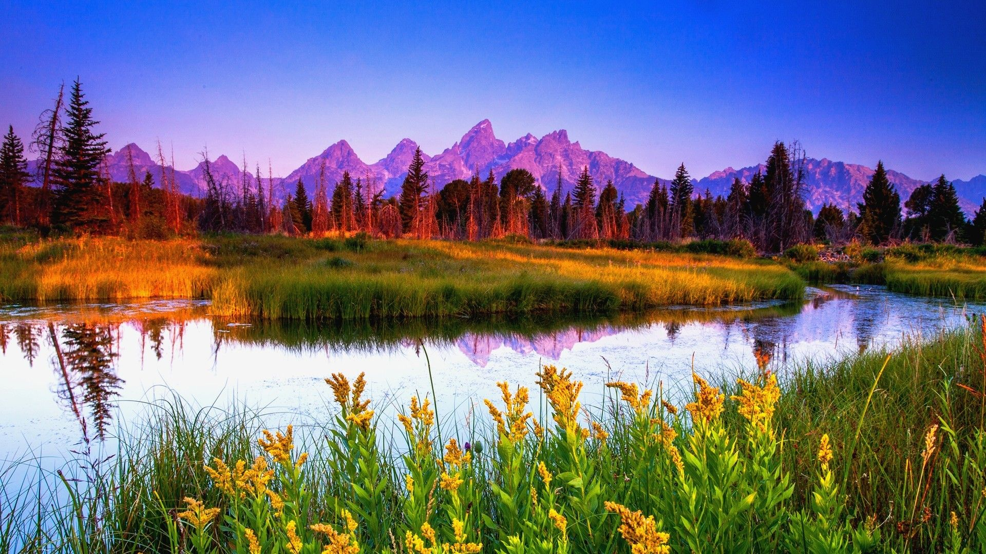 Summer Mountain Wallpapers - Top Free