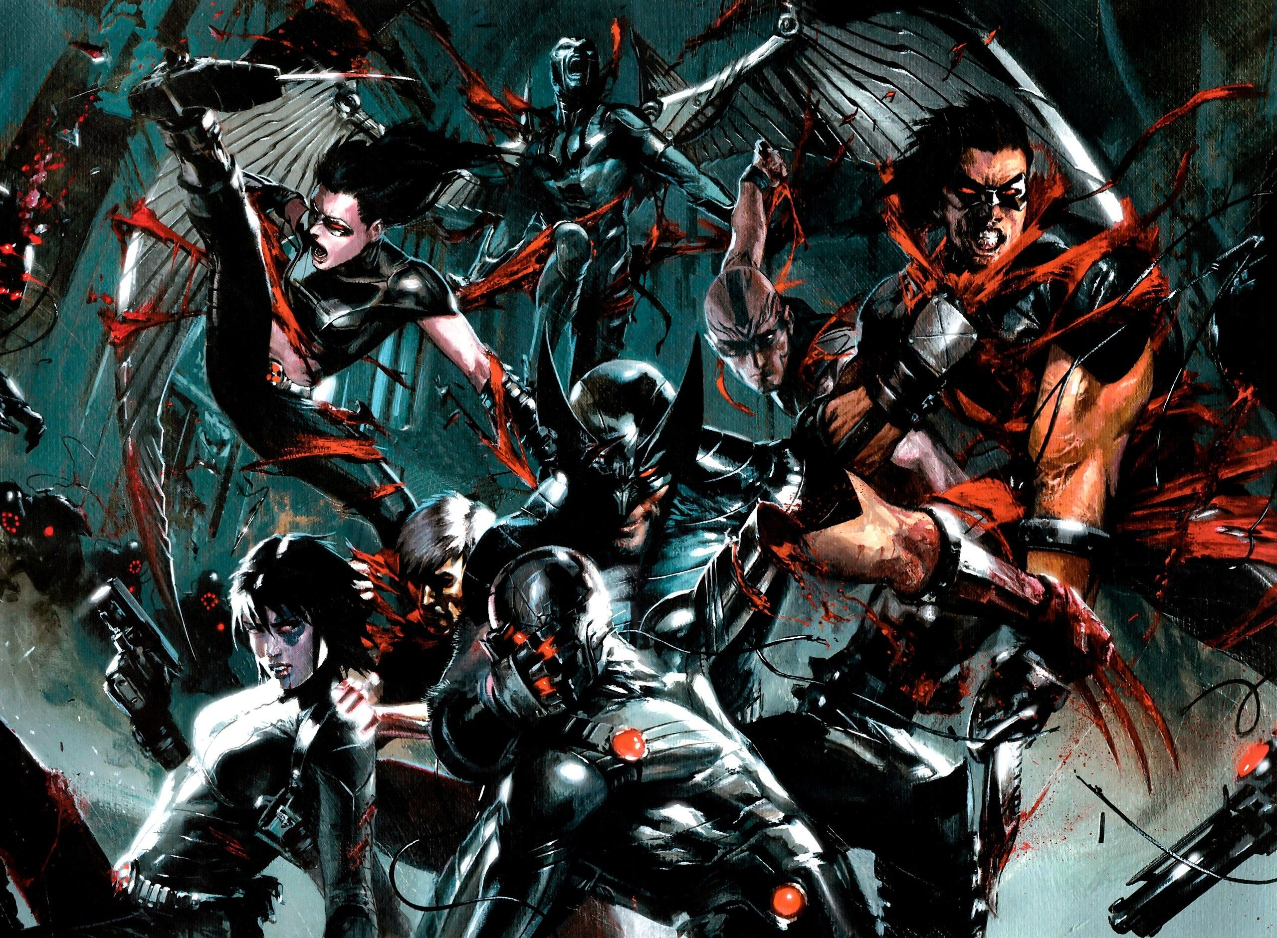 Wolverine X Force Wallpapers Top Free Wolverine X Force