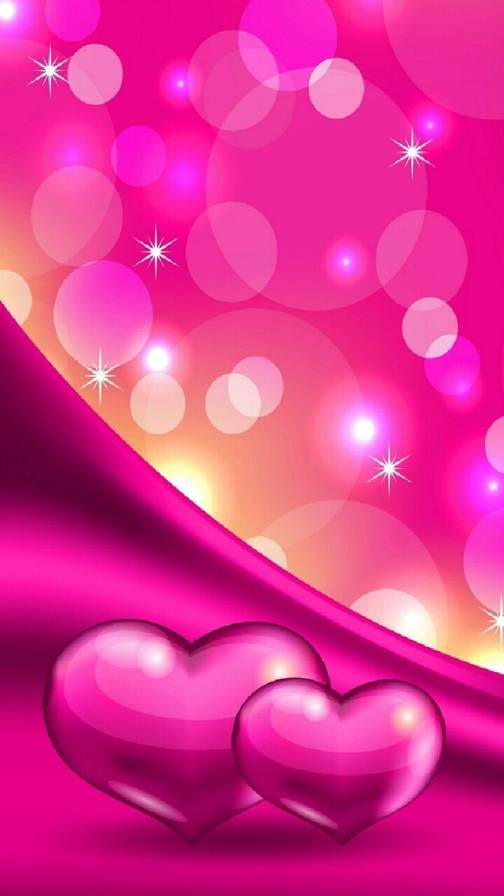 Pink Heart Wallpapers Top Free Pink Heart Backgrounds Wallpaperaccess