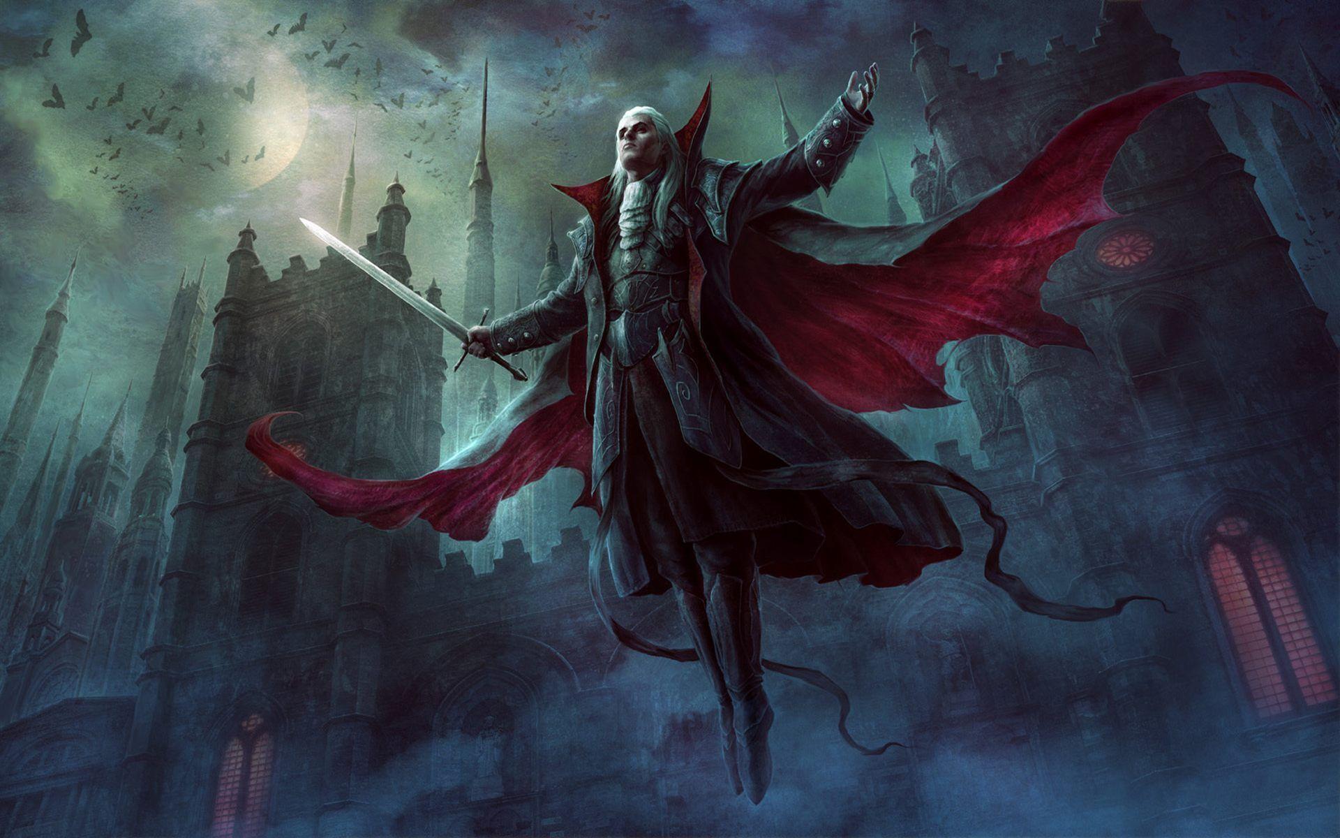 Vampire Wallpapers Top Free Vampire Backgrounds Wallpaperaccess