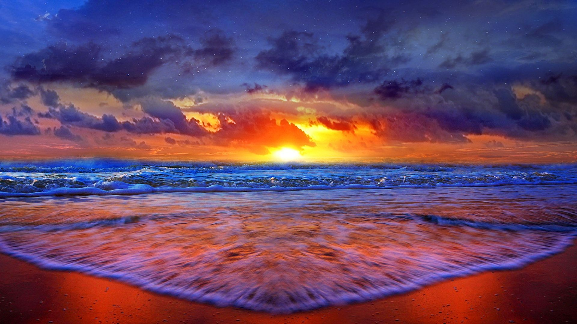 Beach Sunset Desktop Wallpapers Top Free Beach Sunset Desktop Backgrounds Wallpaperaccess