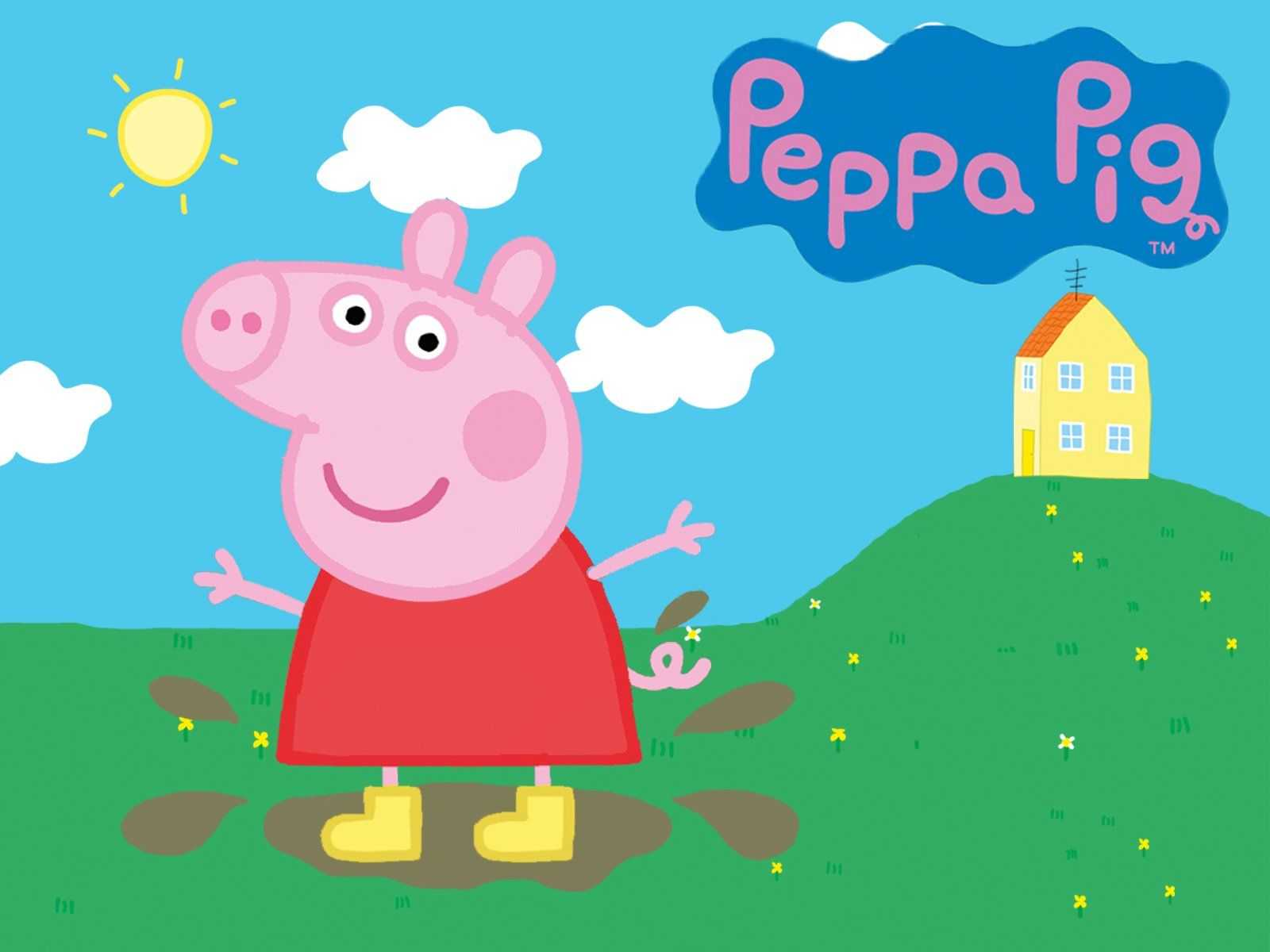 Peppa Pig House Wallpapers Top Free Peppa Pig House Backgrounds Wallpaperaccess